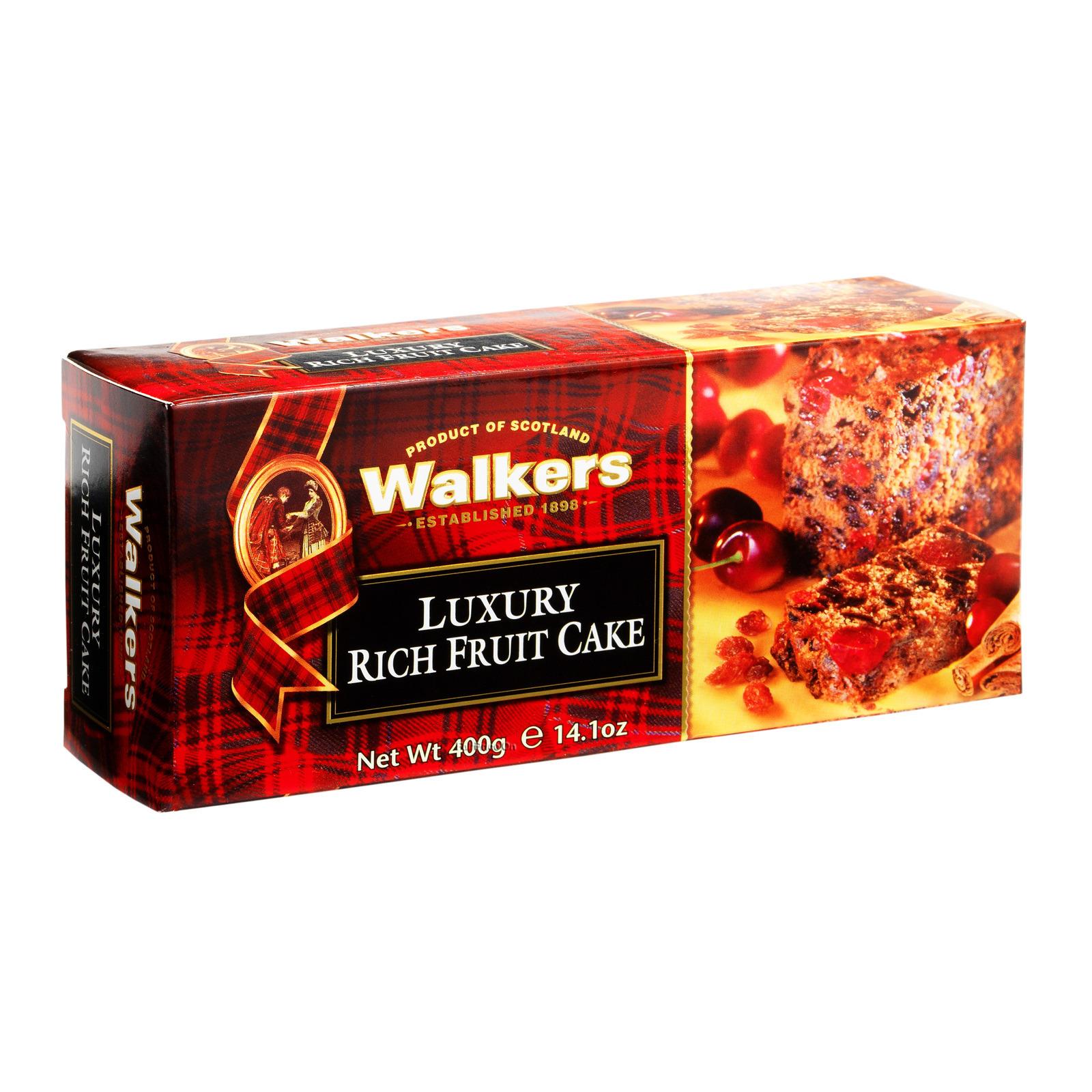 Walkers Luxury Cake - Rich Fruit