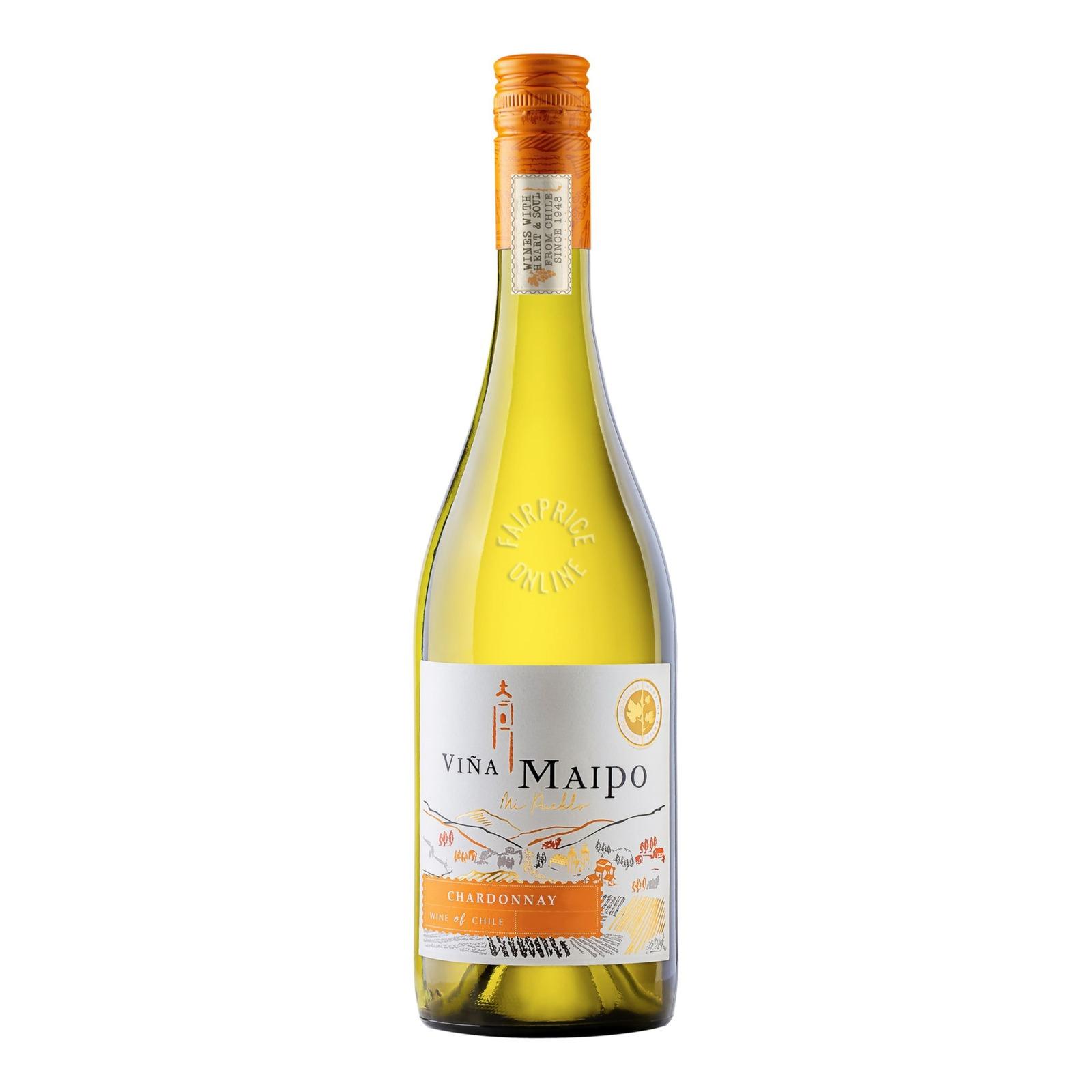 Vina Maipo White Wine - Chardonnay