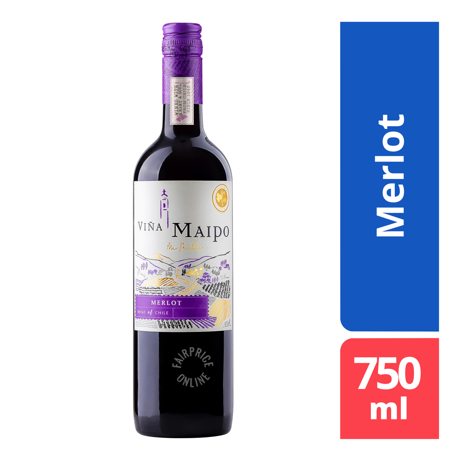 Vina Maipo Red Wine - Merlot