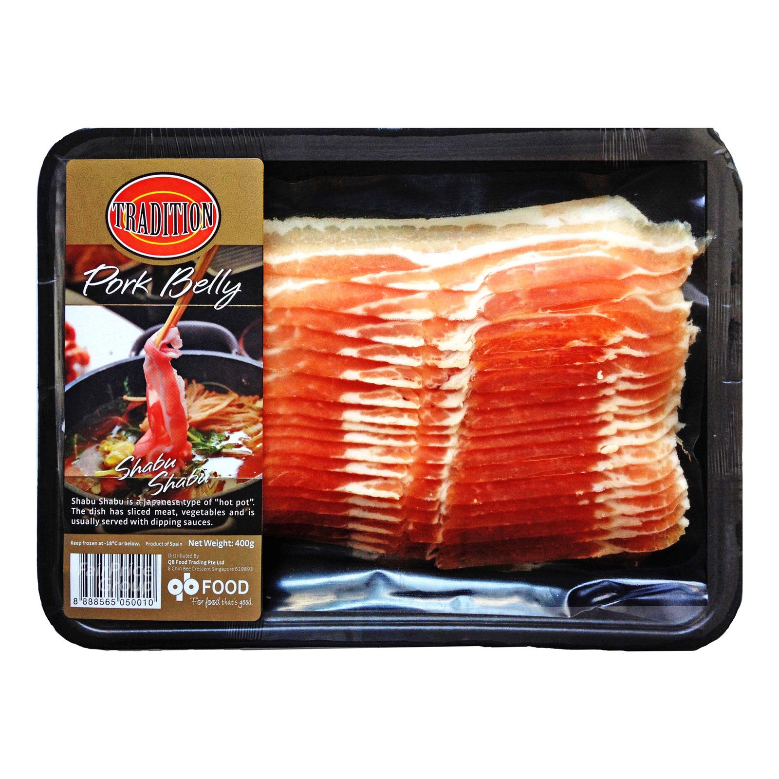 Tradition Frozen Shabu Shabu - Pork Belly