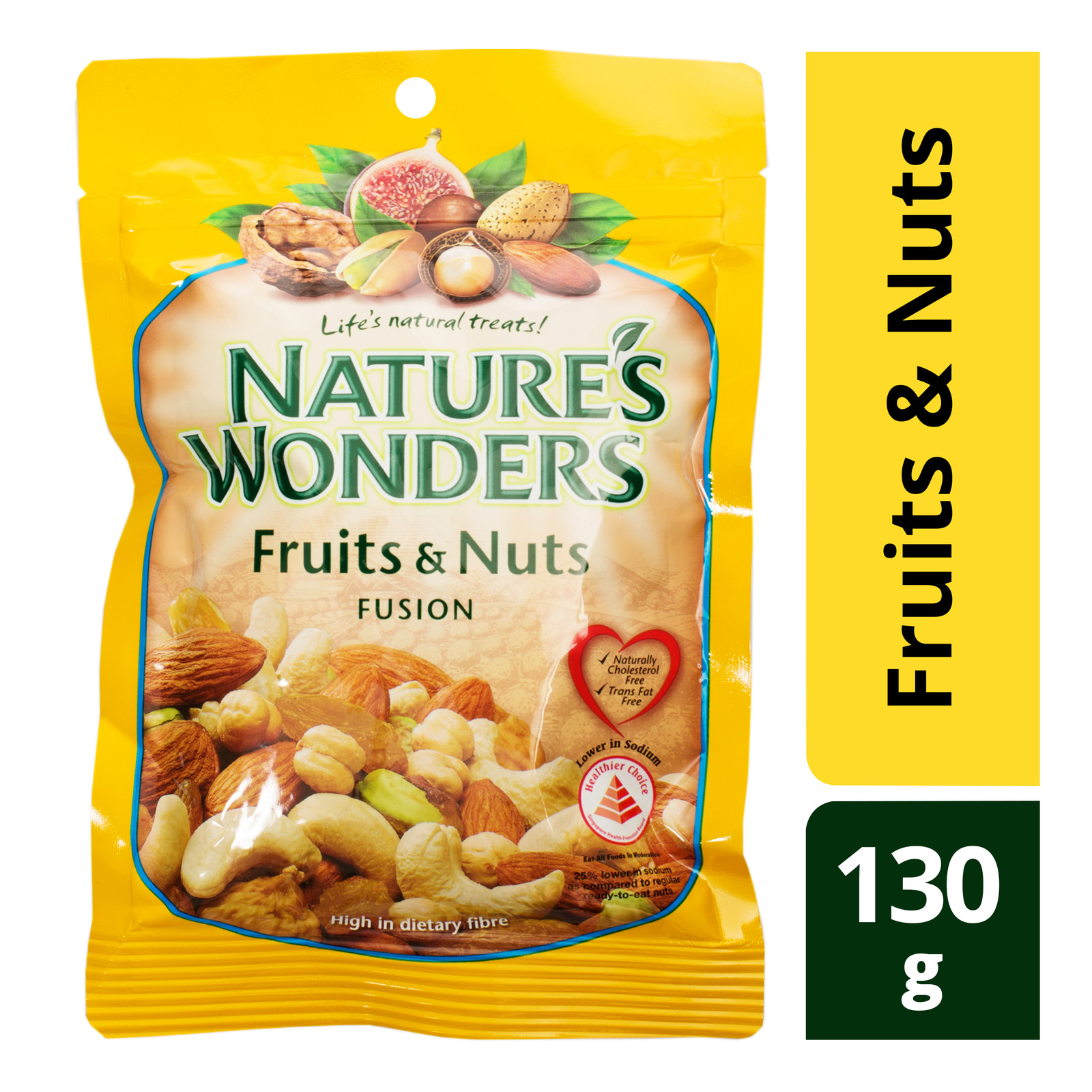 NATURES WONDERS Fruits & Nut Fusion 130g