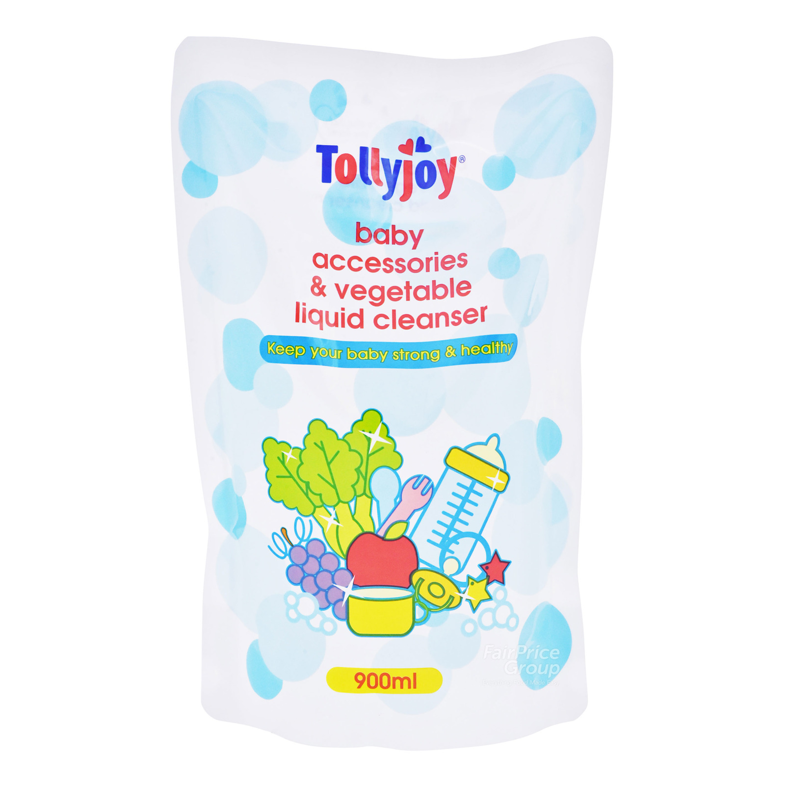 Tollyjoy Baby Liquid Cleanser Refill - Accessories & Vegetable