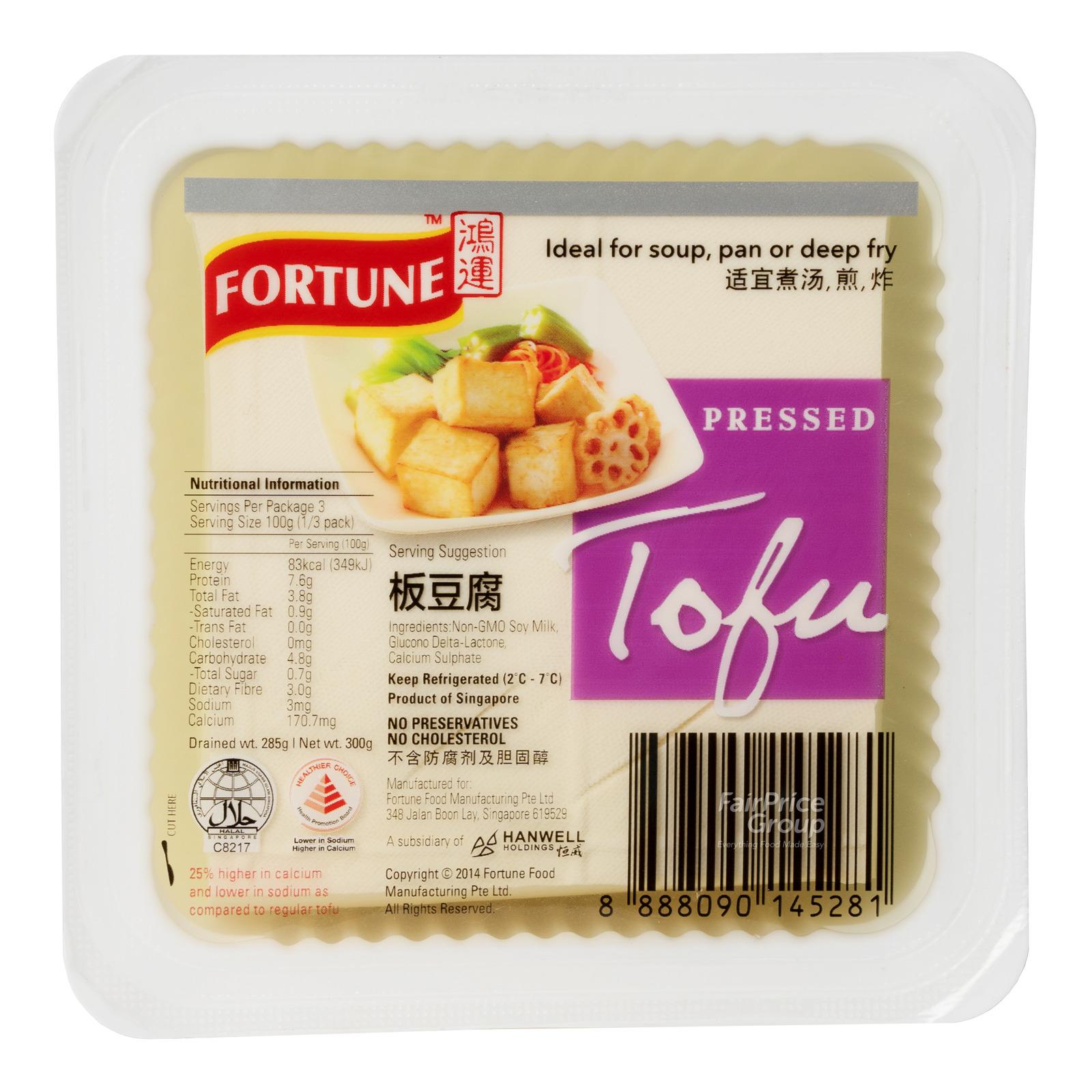 Fortune Pressed Tofu