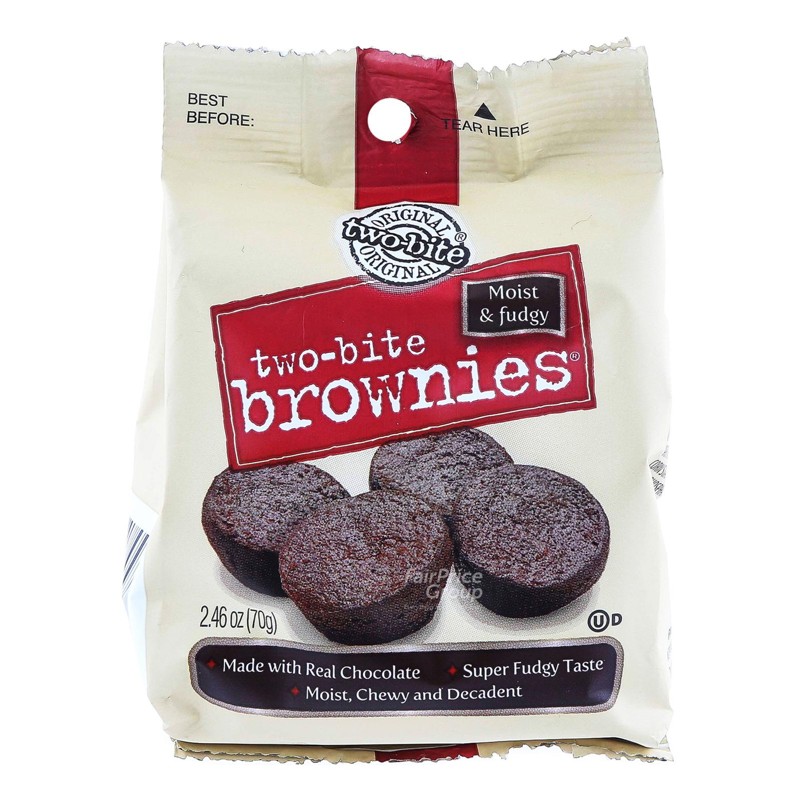 Two-Bite Brownies - Original