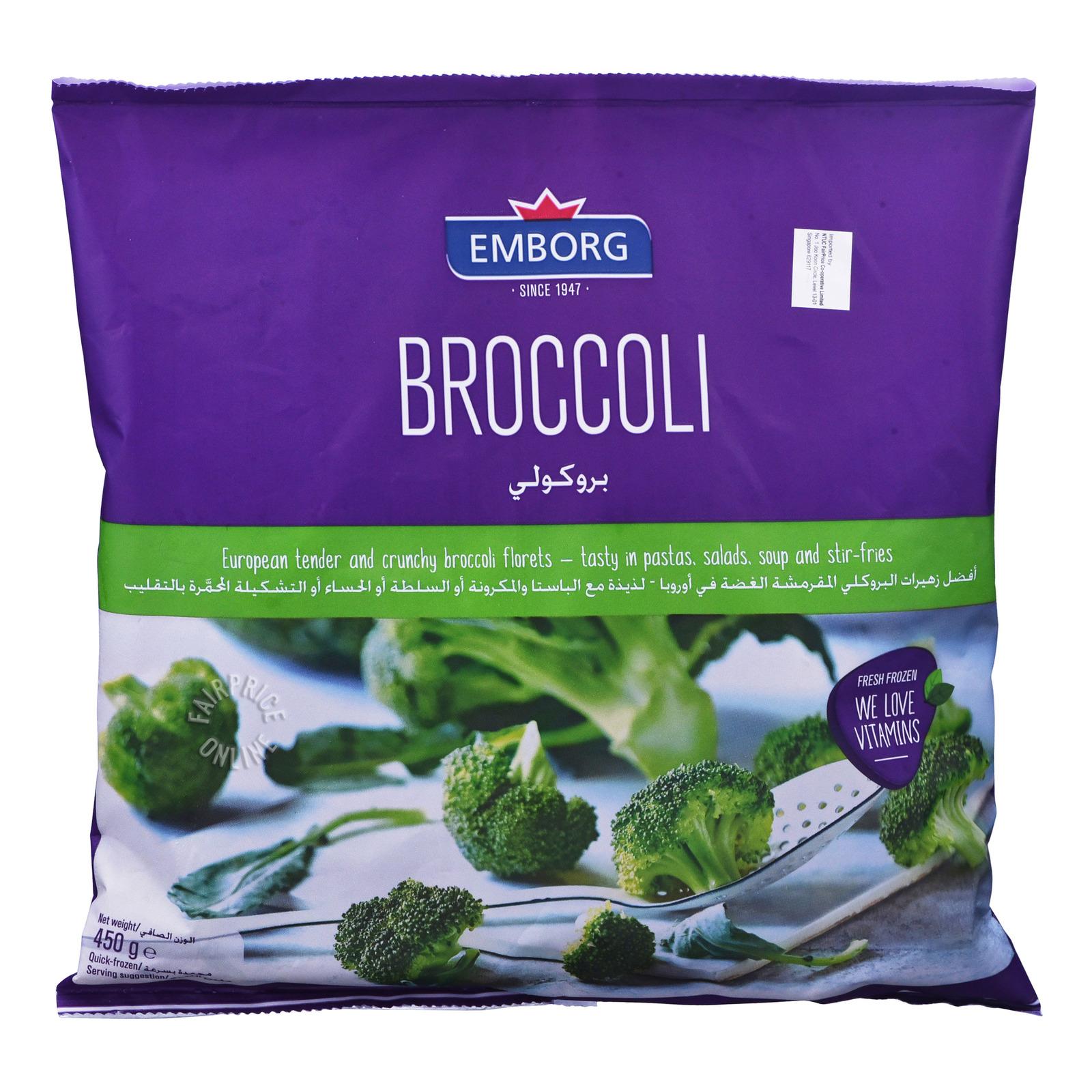 Emborg Frozen Broccoli Florets