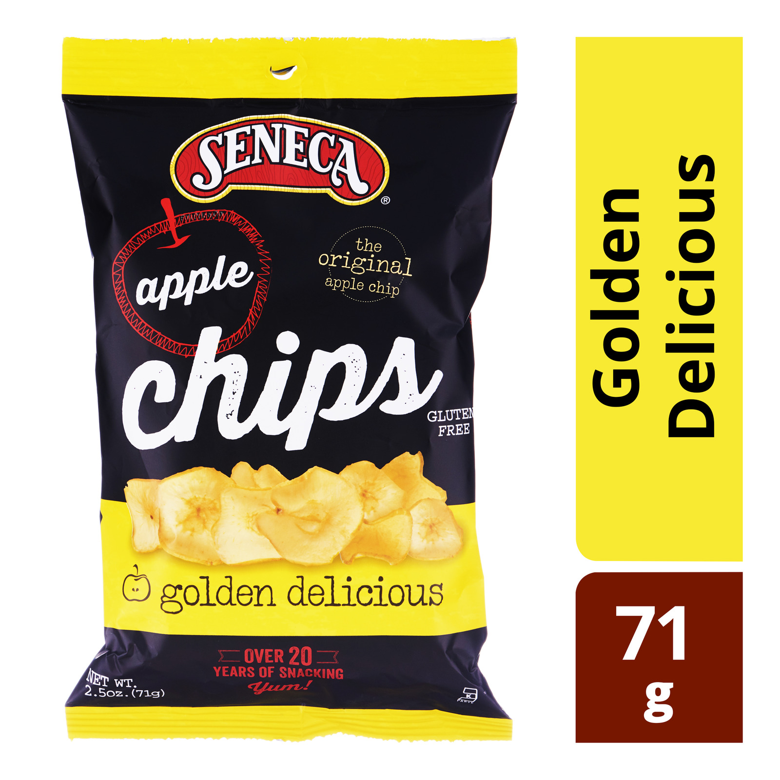 Seneca Crispy Apple Chips - Golden Delicious