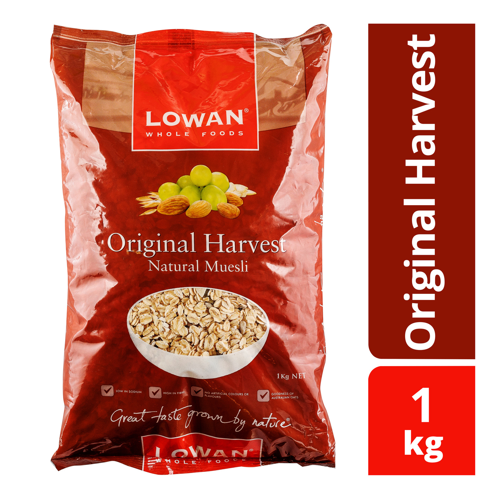 Lowan Natural Muesli - Original Harvest