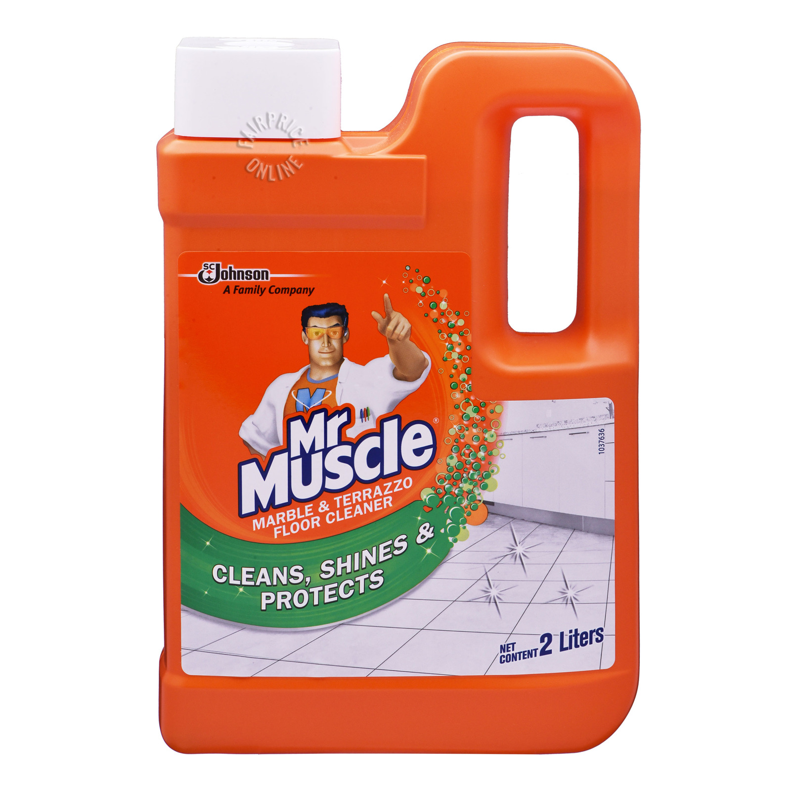 Mr Muscle 3 in 1 Floor Cleaner - Marble & Terrazzo