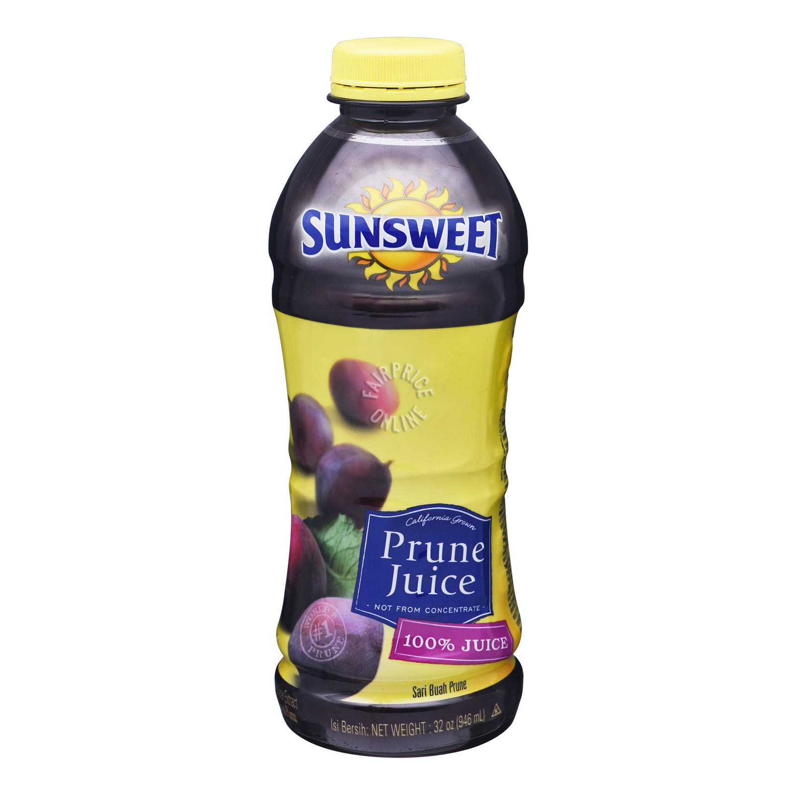 Sunsweet 100% Prune Bottle Juice