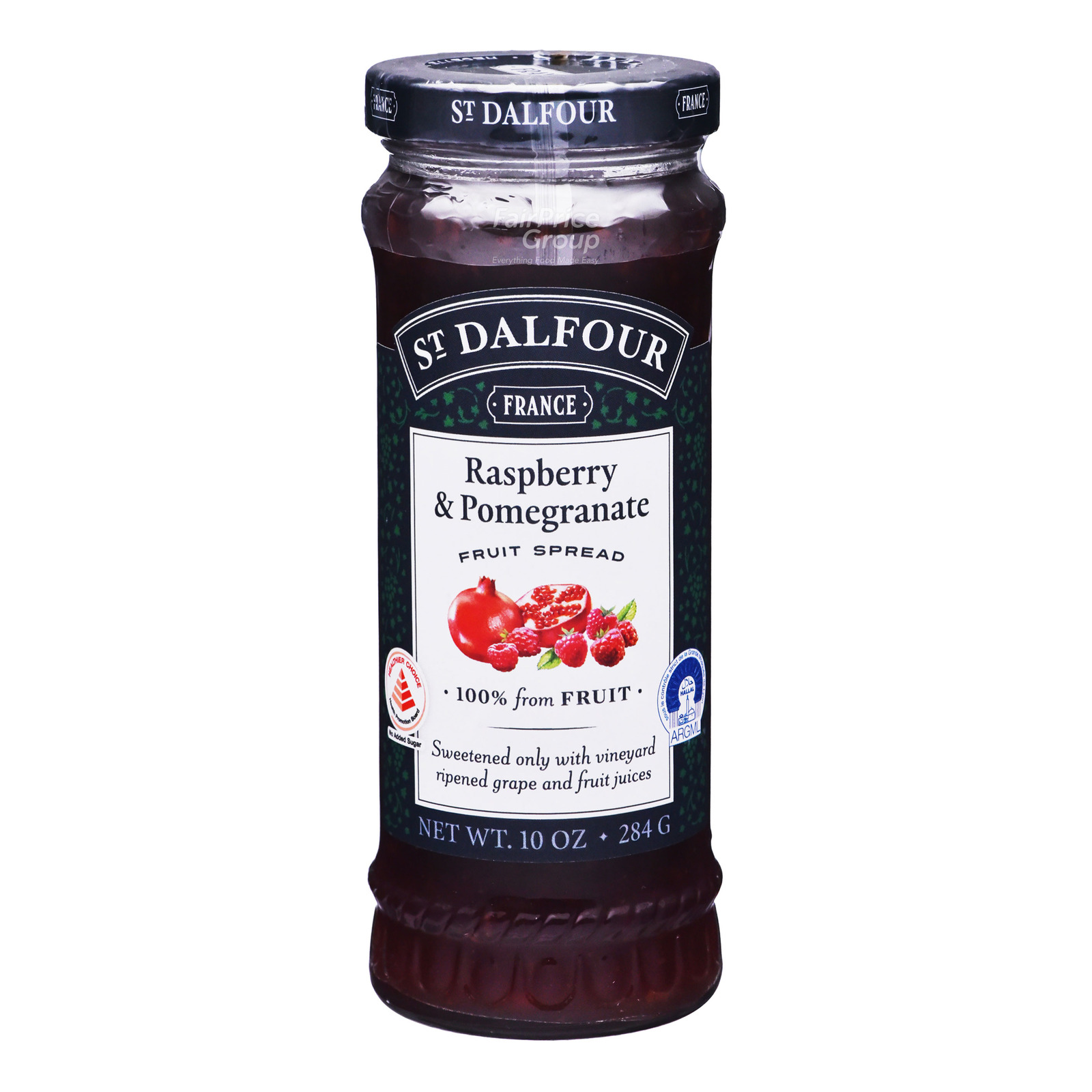 St.Dalfour Fruit Spread - Raspberry With Pomegranate