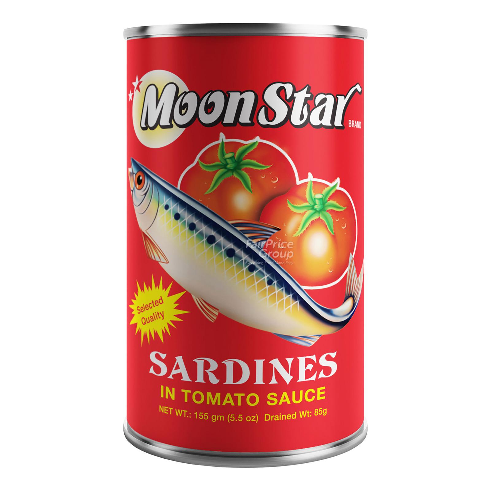 Moon Star Sardines in Tomato Sauce