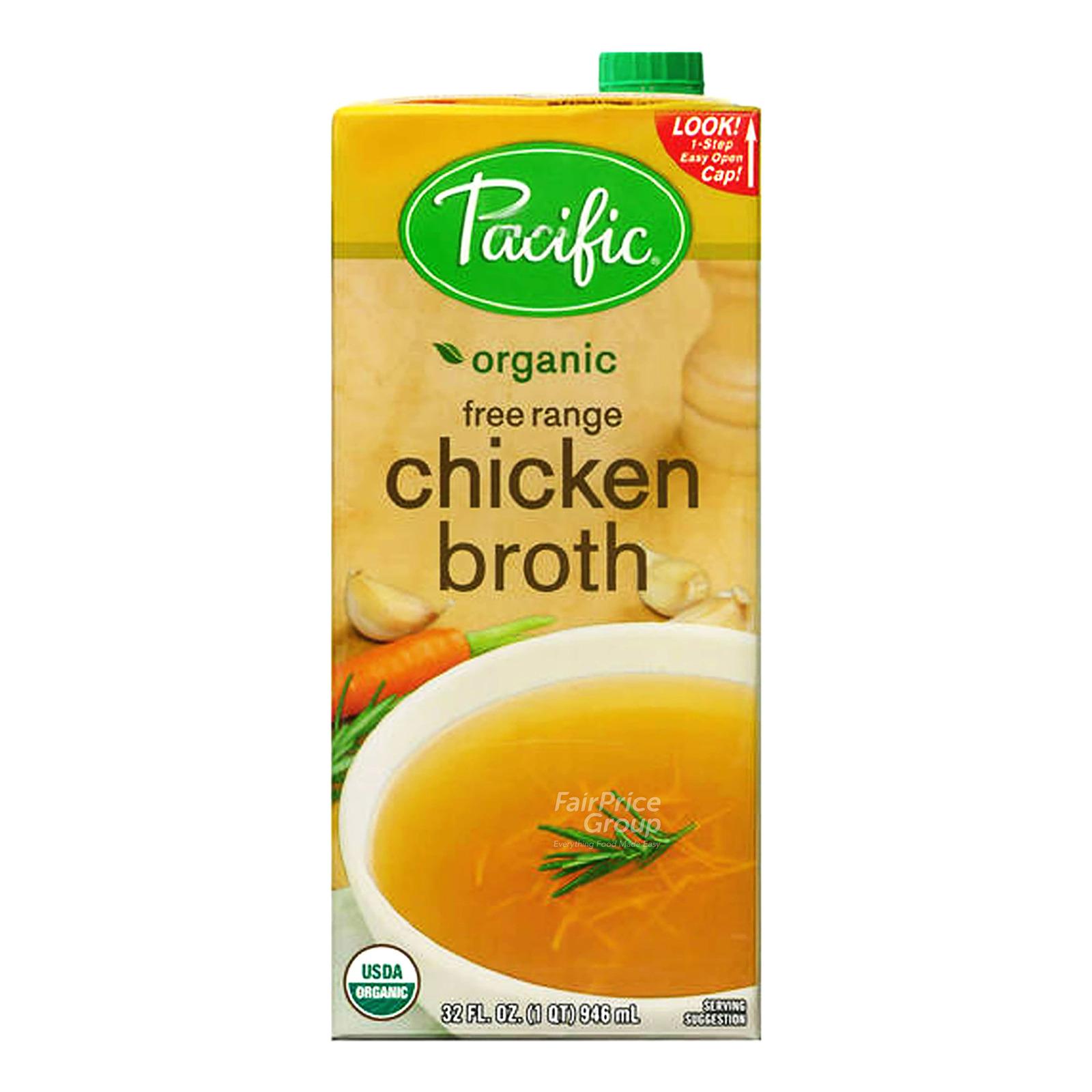 Pacific Organic Broth - Free Range Chicken