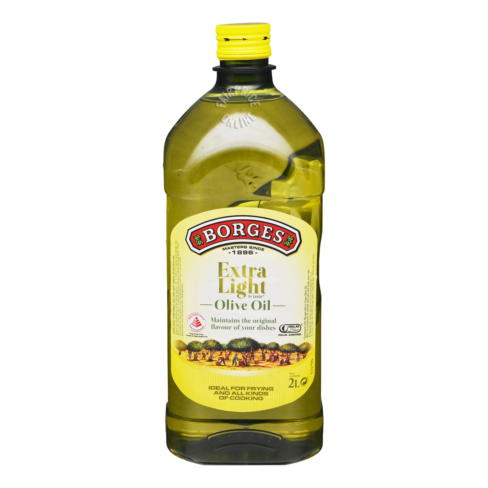 Heritage Farm Extra Light Olive Oil 2L
