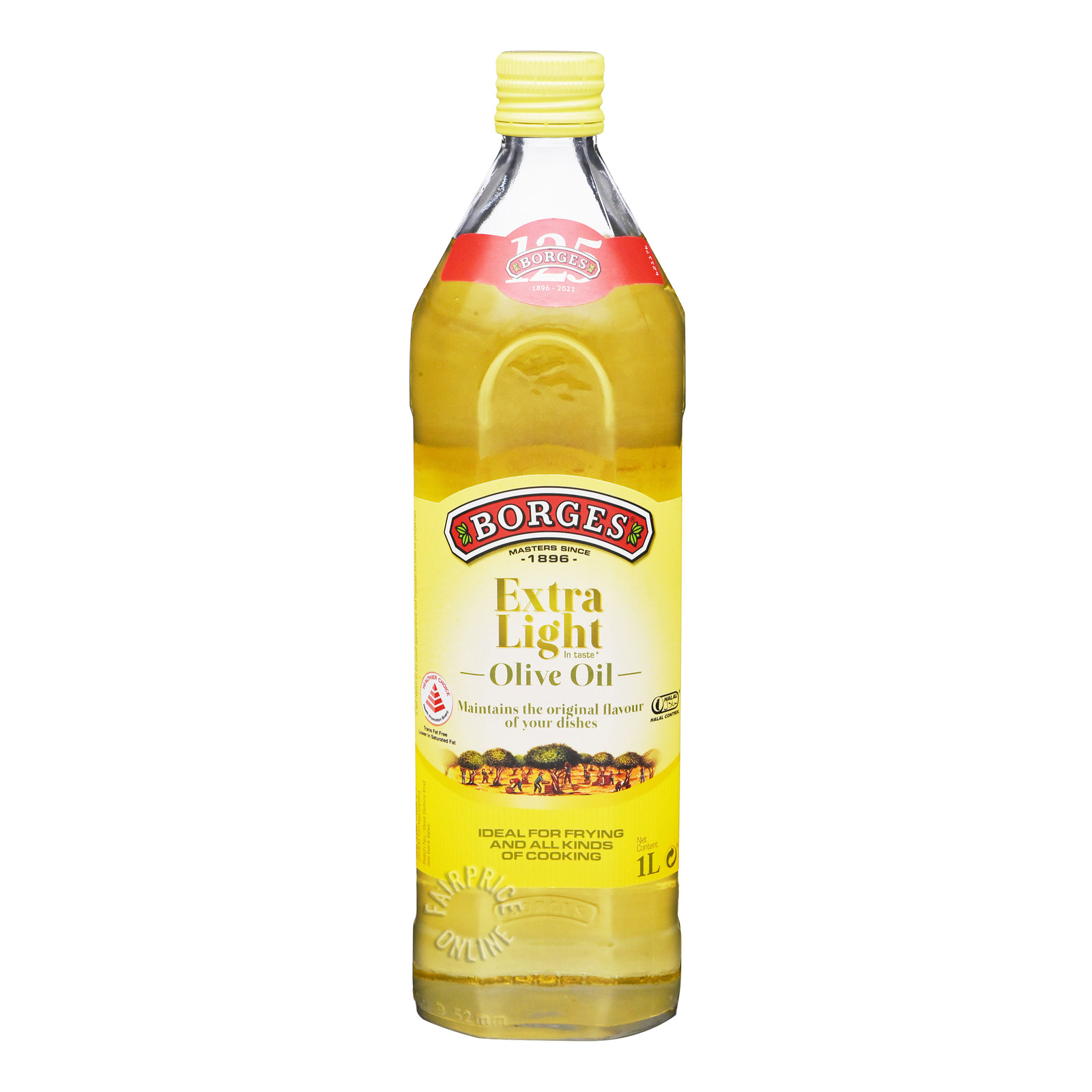 BORGES Extra Light Olive Oil 1L