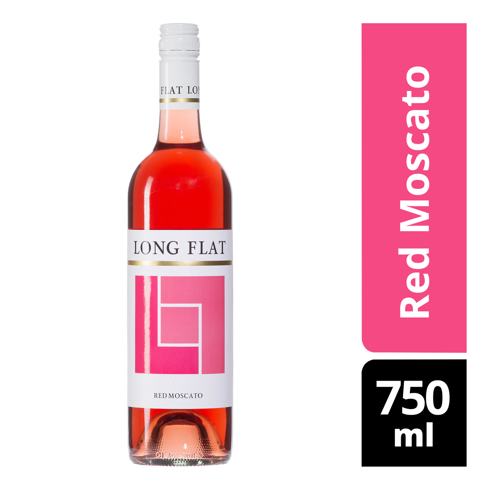 Long Flat Sweet Wine - Red Moscato