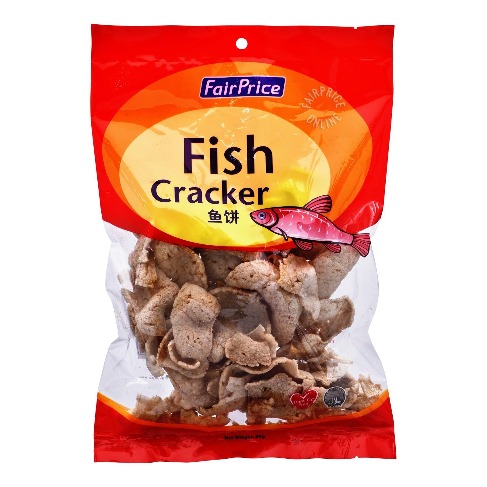 FairPrice Crackers - Fish