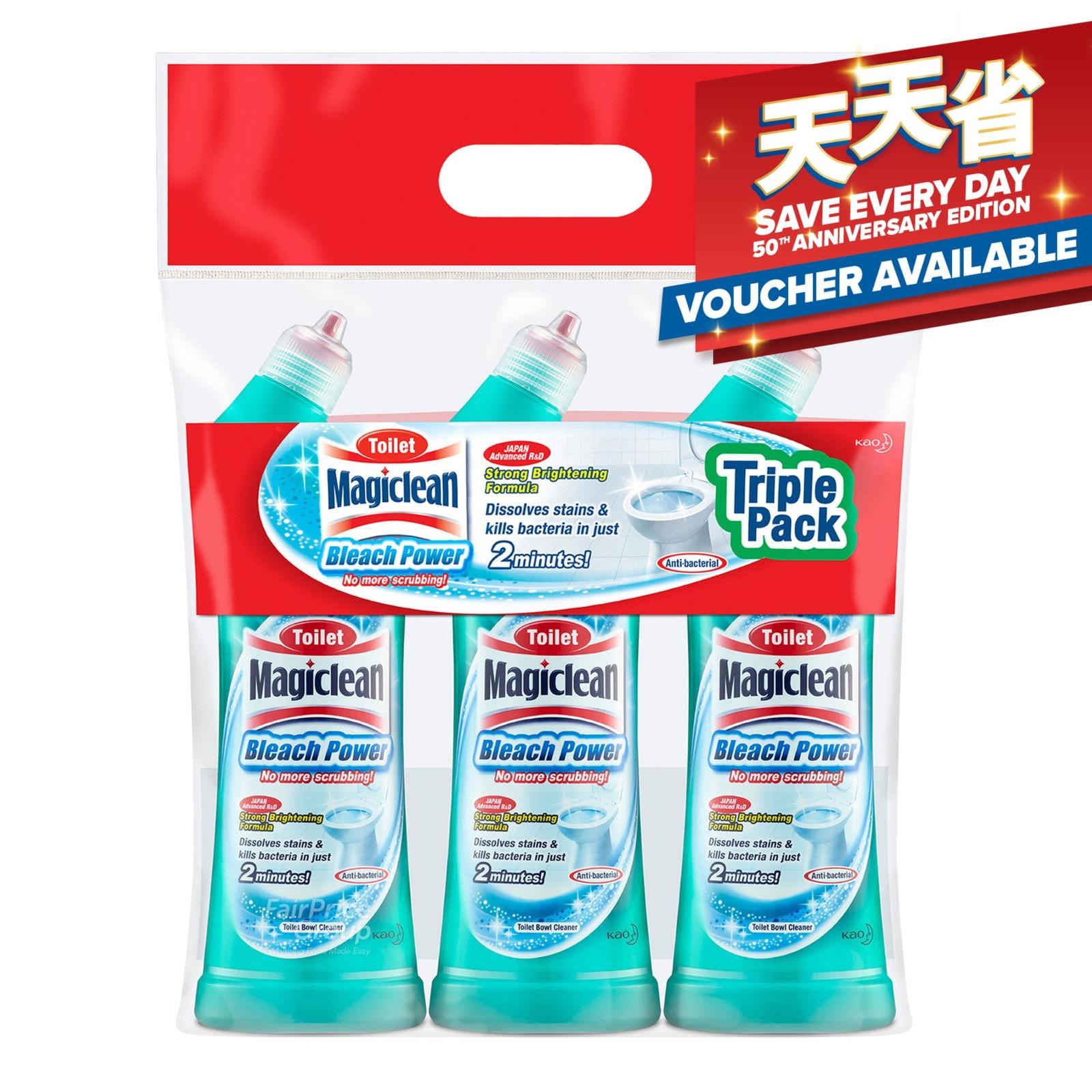 Magiclean Toilet Bleach Power Cleaner