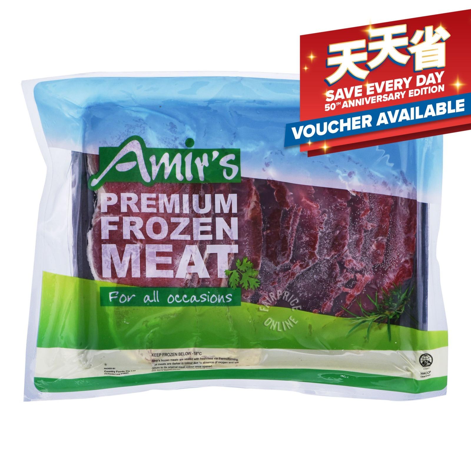 Amir's Premium Frozen Meat - Beef Sukiyaki