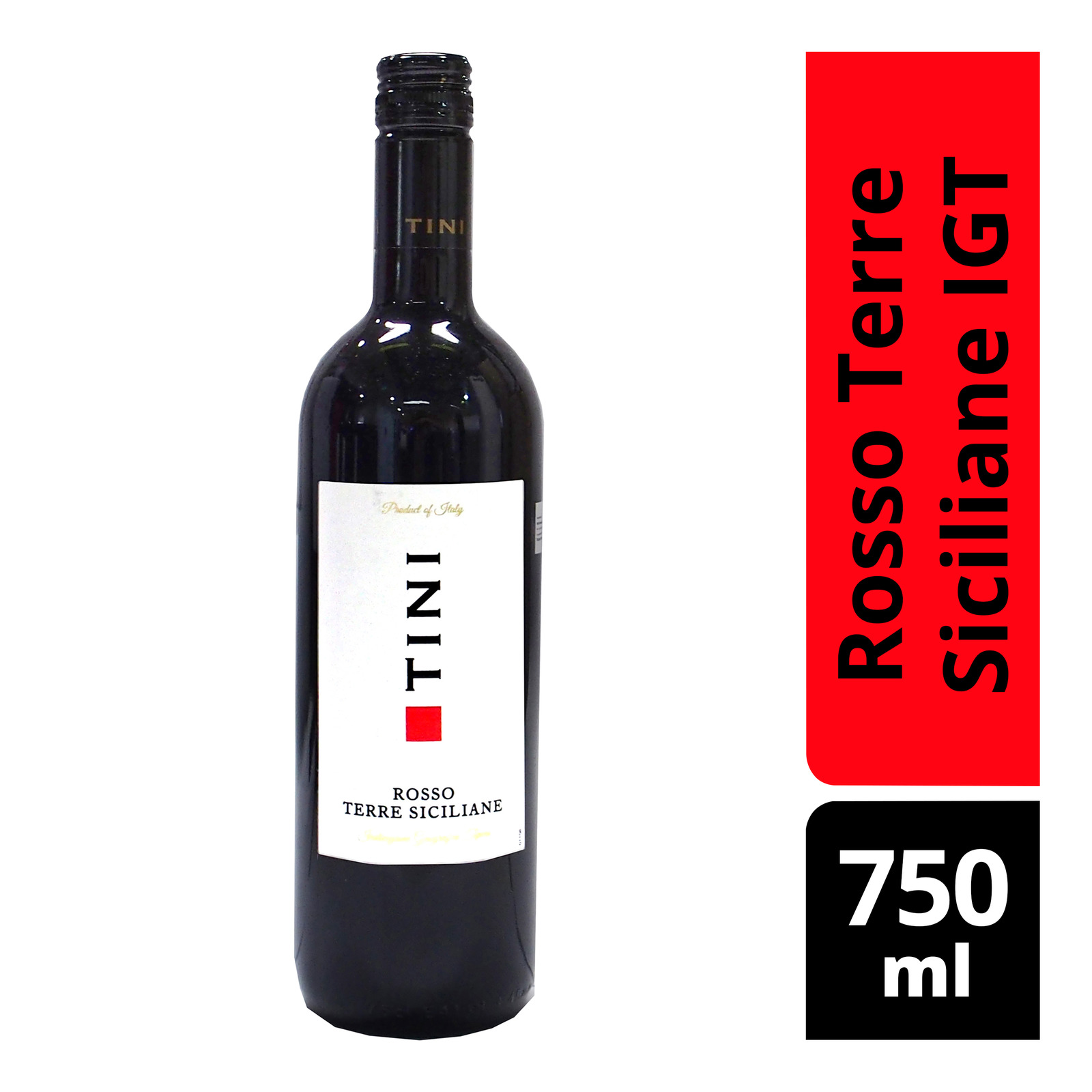 Tini Red Wine - Rosso Terre Siciliane IGT