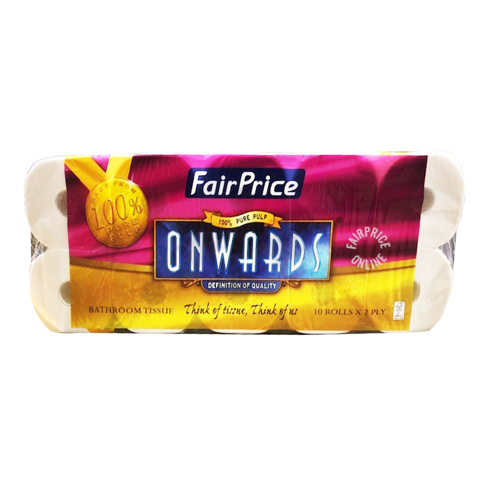 FairPrice Onwards Bathroom Tissue - 2 Ply