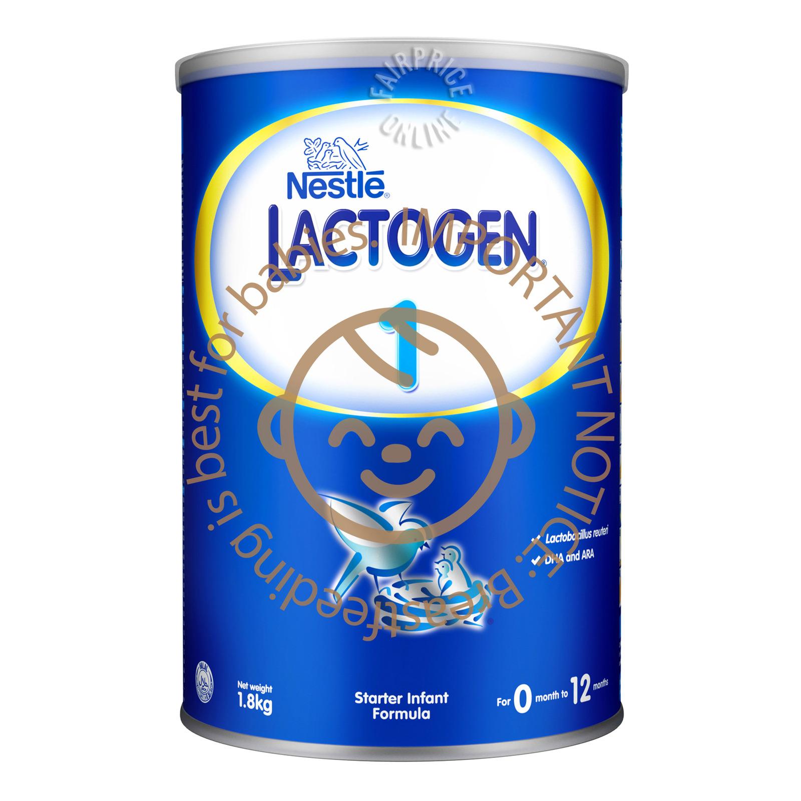 Nestle Lactogen Comfortis Infant Milk Formula - Stage 1