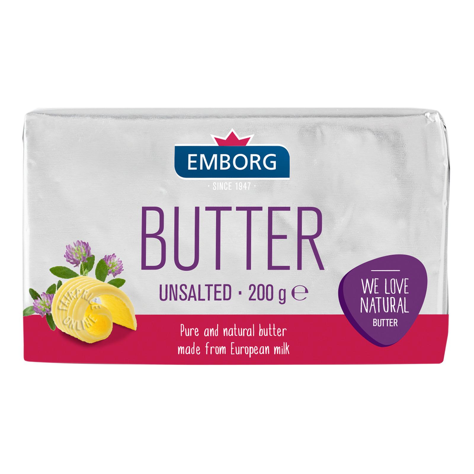 Emborg Block Butter - Unsalted