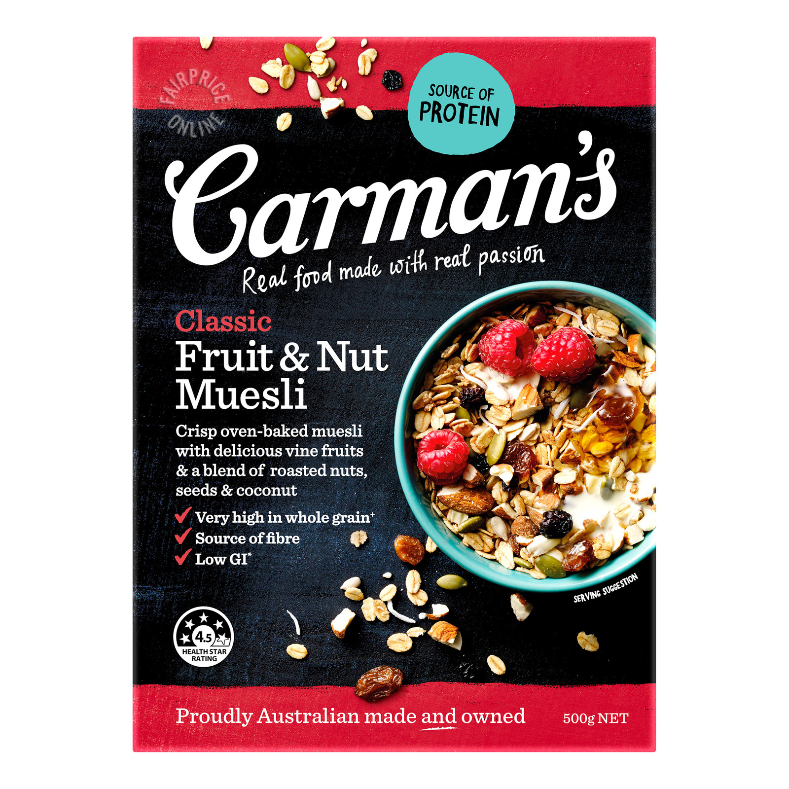 Carman's Muesli - Classic (Fruit & Nut)