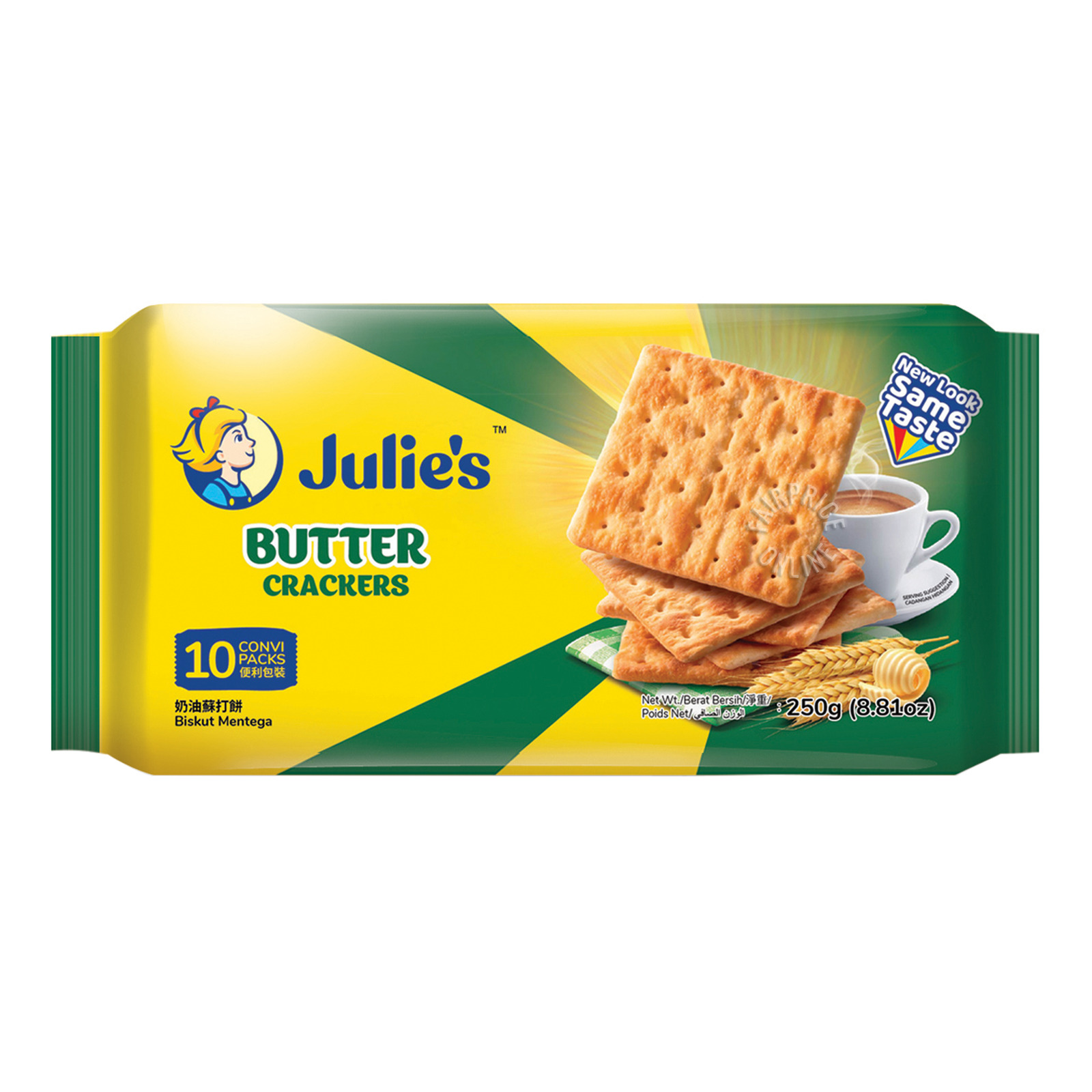 Julie's Crackers - Butter
