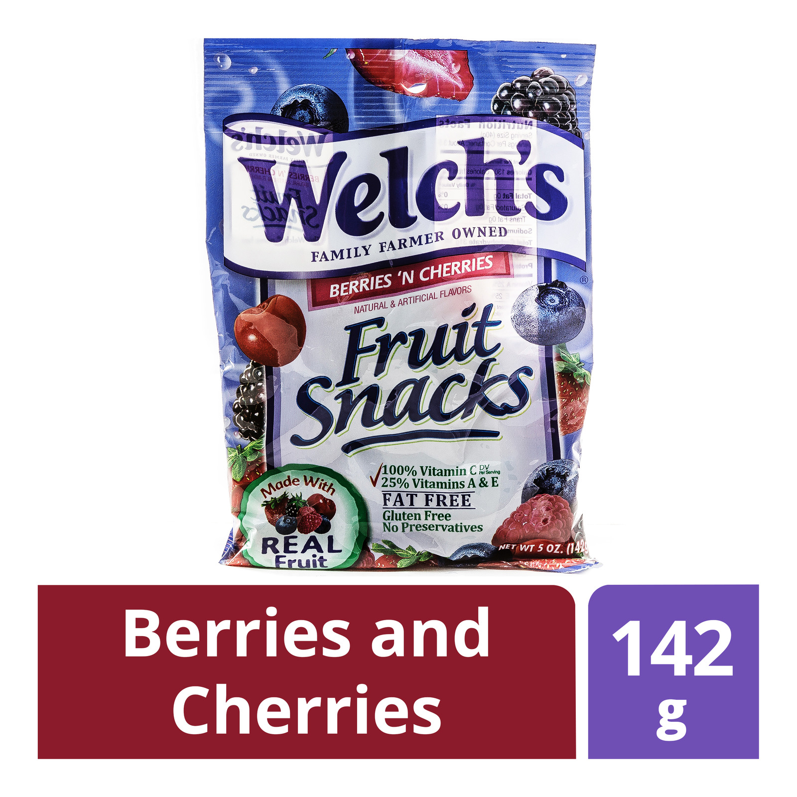 Welch's Fruit Snacks - Berries and Cherries