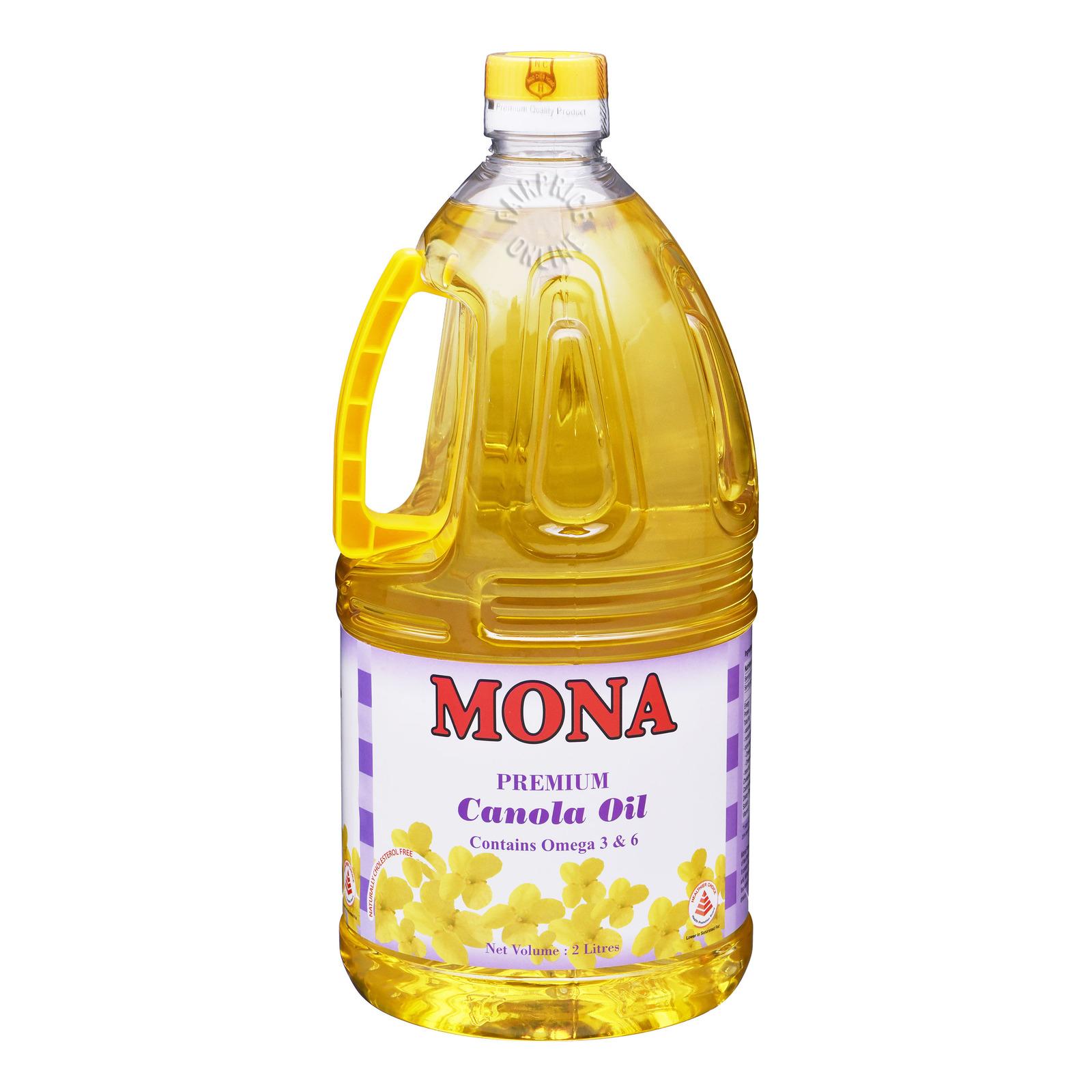 Mona Premium Canola Oil