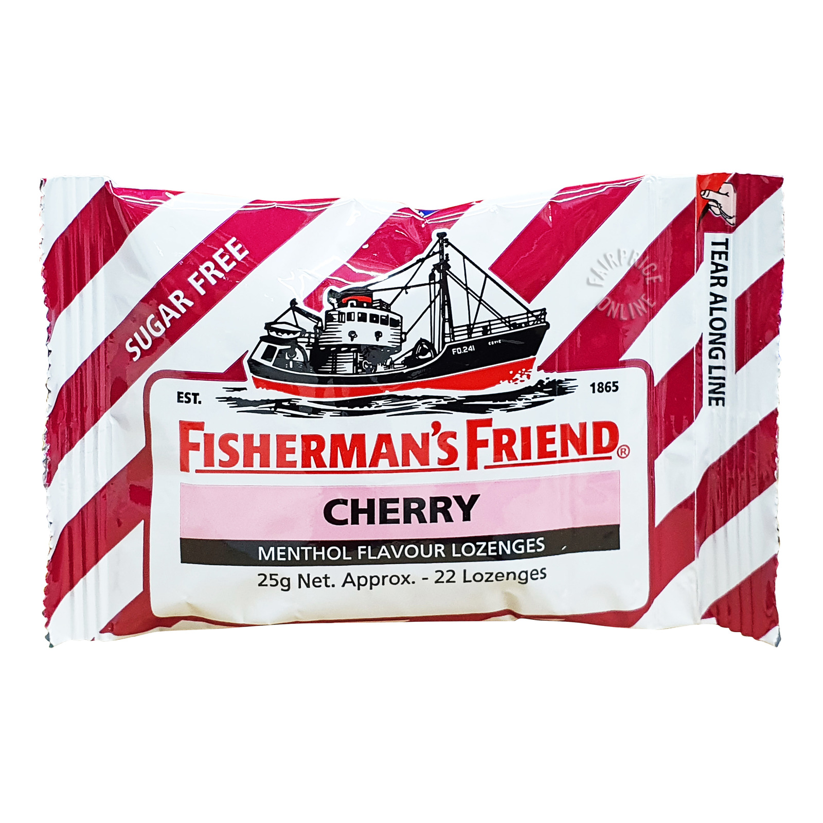 Fisherman's Friend Sugar Free Lozenges - Cherry