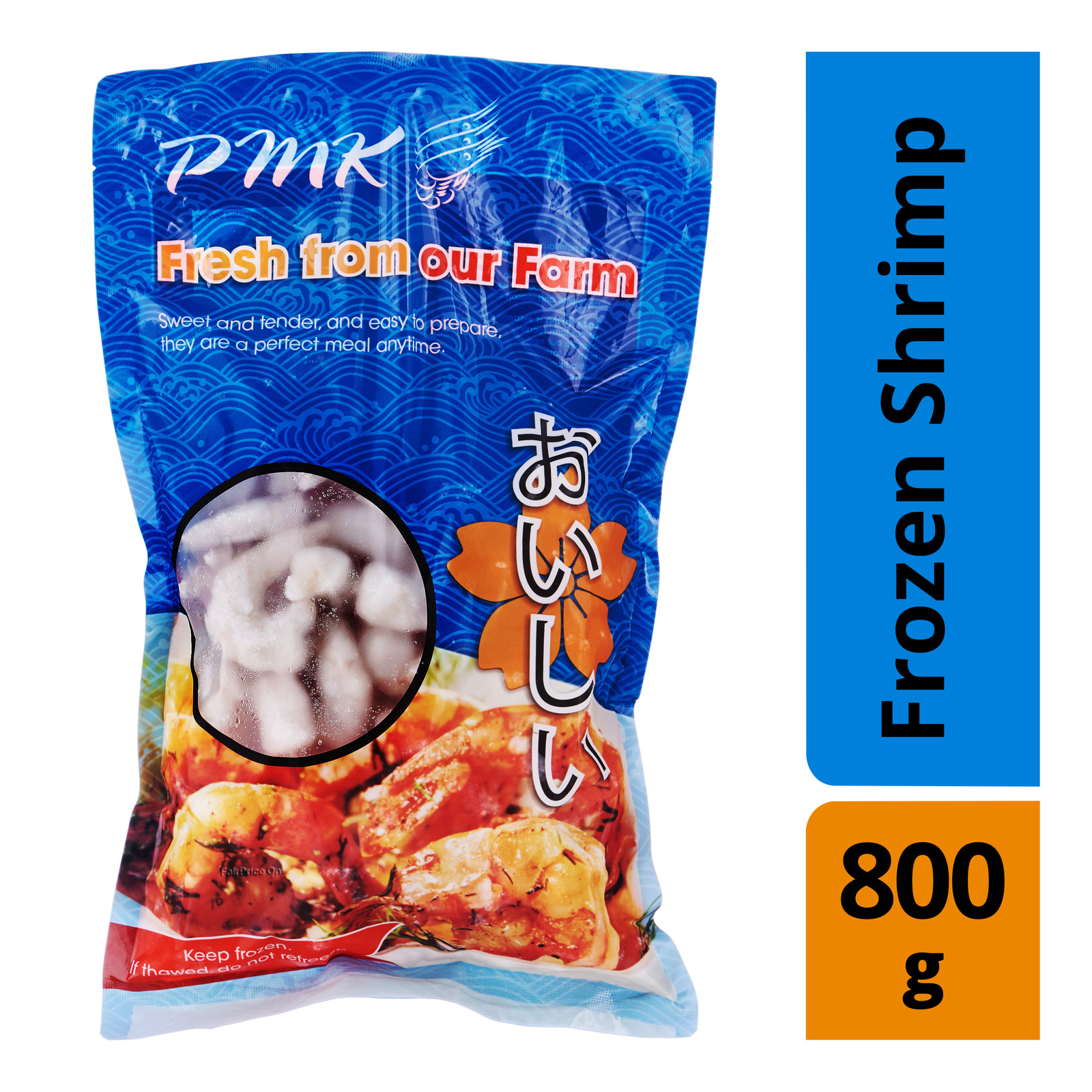 PMK Quality Frozen Shrimp