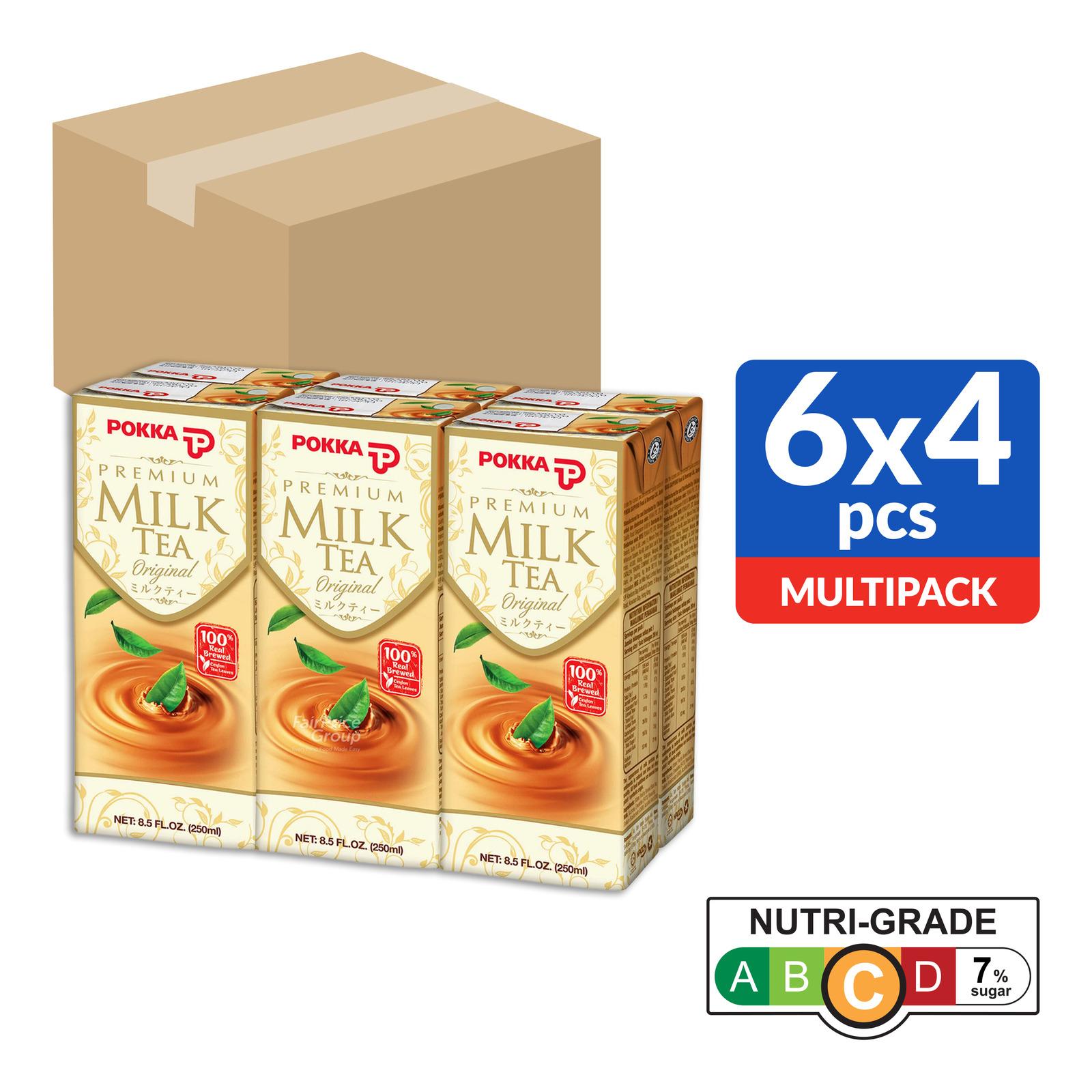 Pokka Premium Packet Drink - Milk Tea (Original)