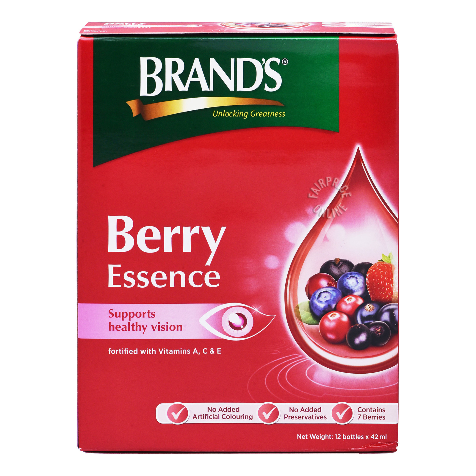 Brand's Innershine Berry Essence, 12x42ml