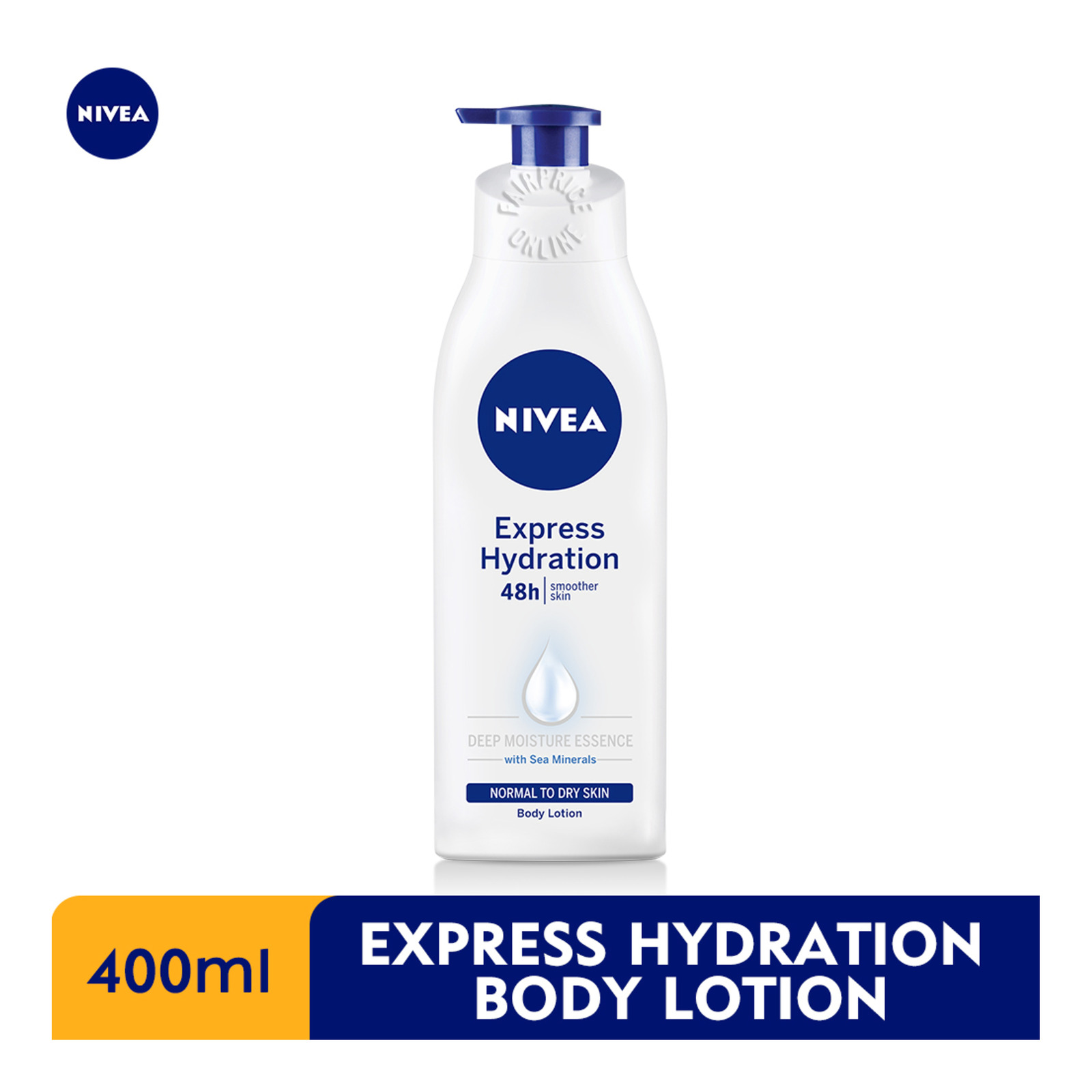 Nivea Body Express Hydration Body Lotion, 400ml