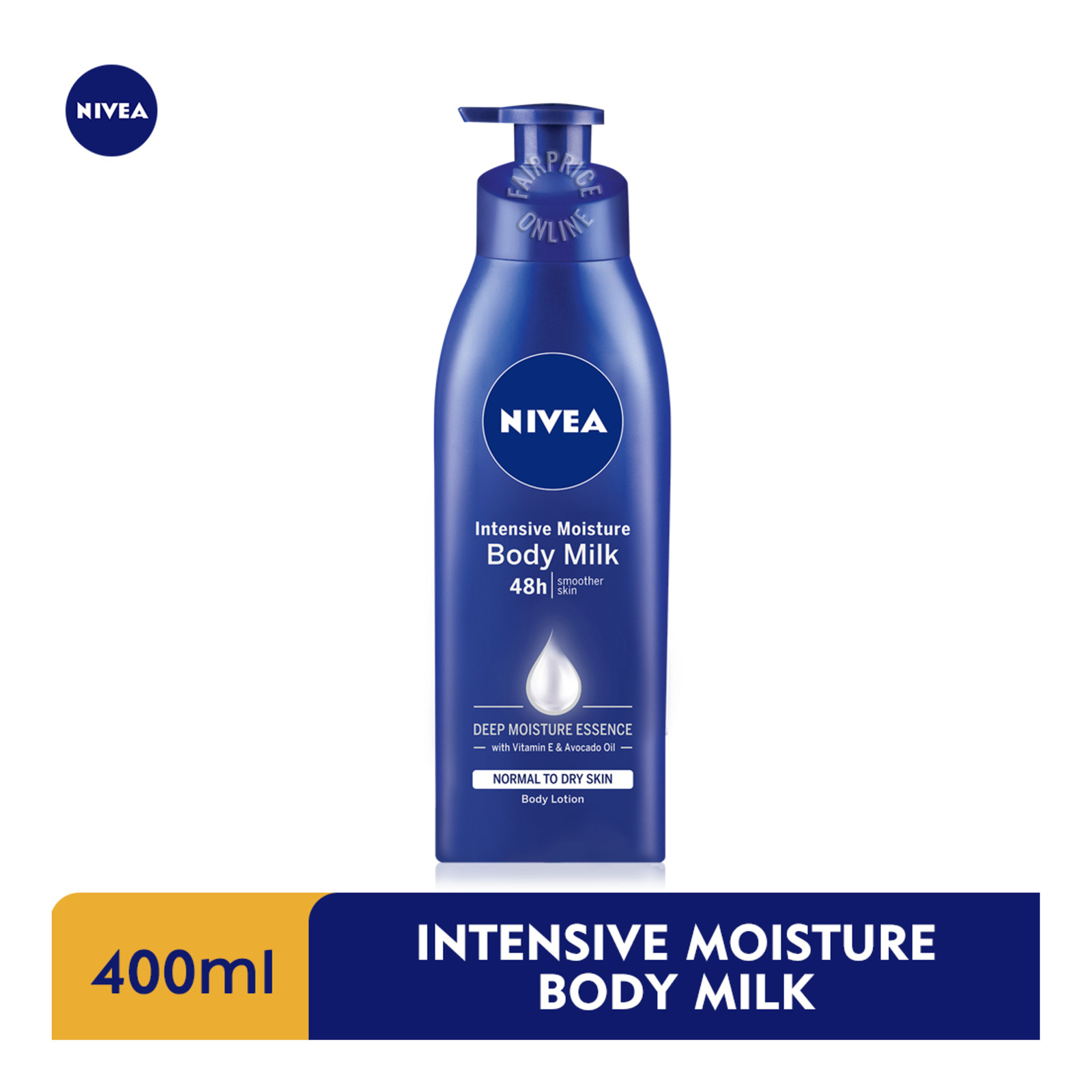 Nivea Intensive Moisture Body Milk Body Lotion, 400ml