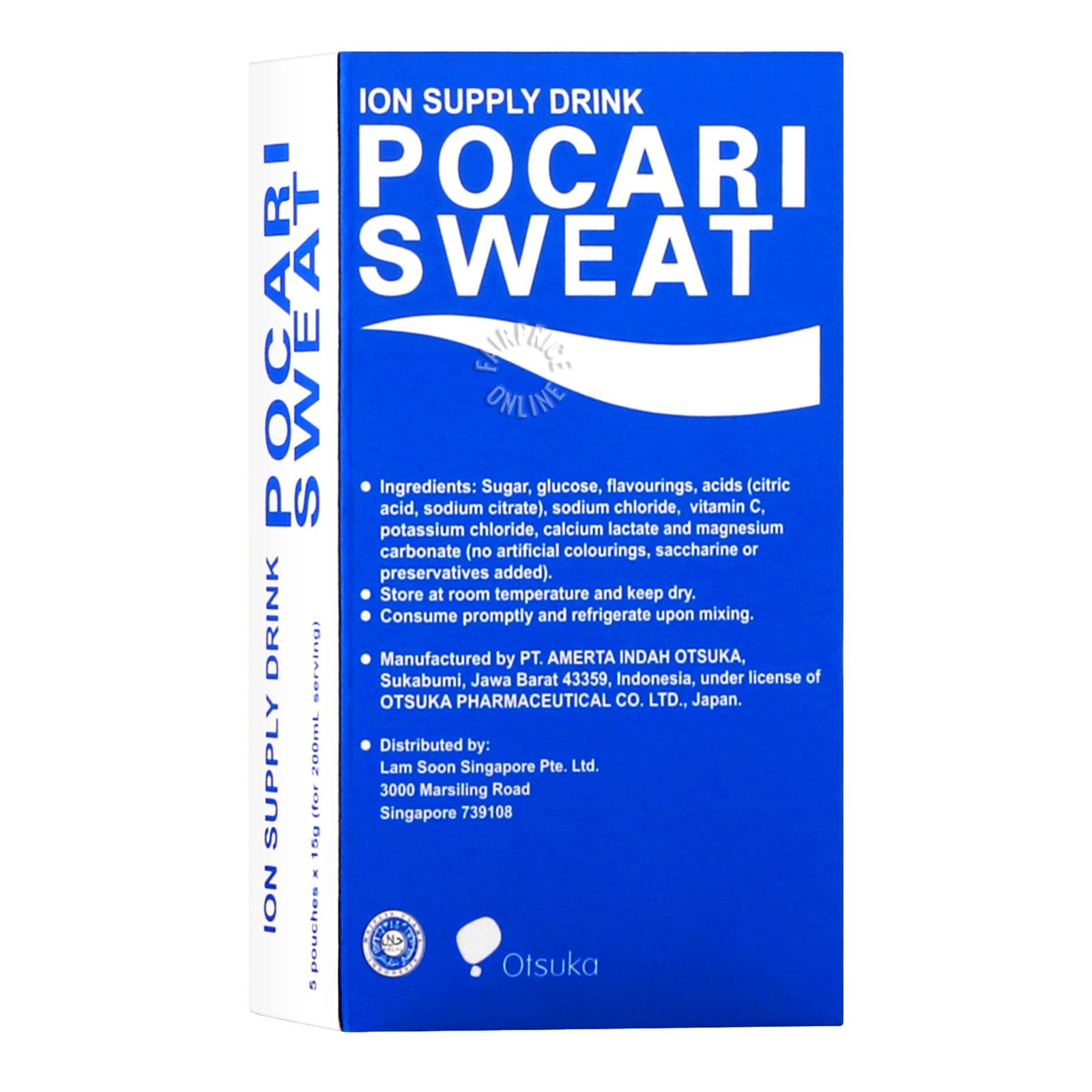 Pocari Sweat Ion Supply Sachets Drink