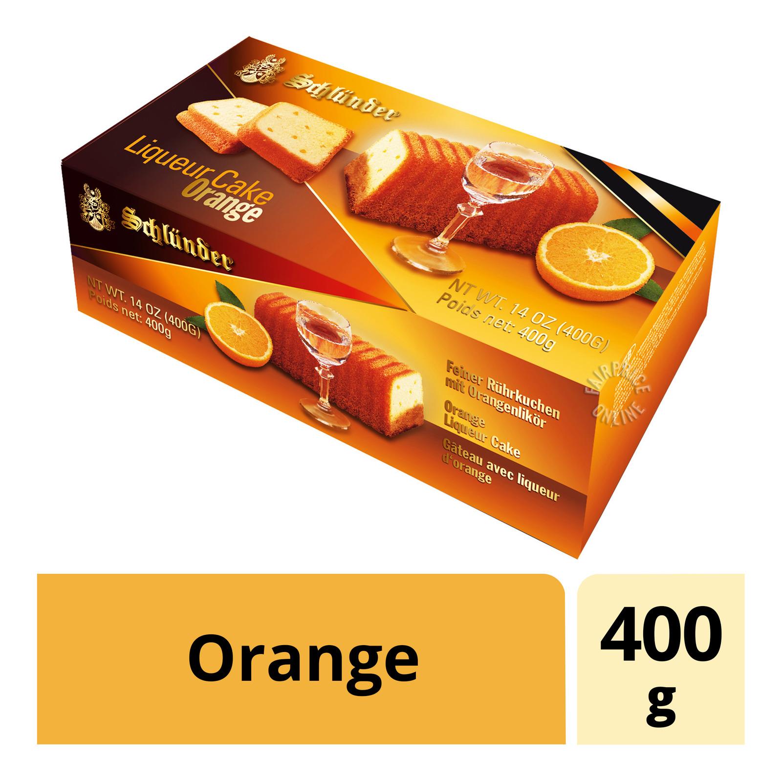 Schlunder Liquer Cake - Orange