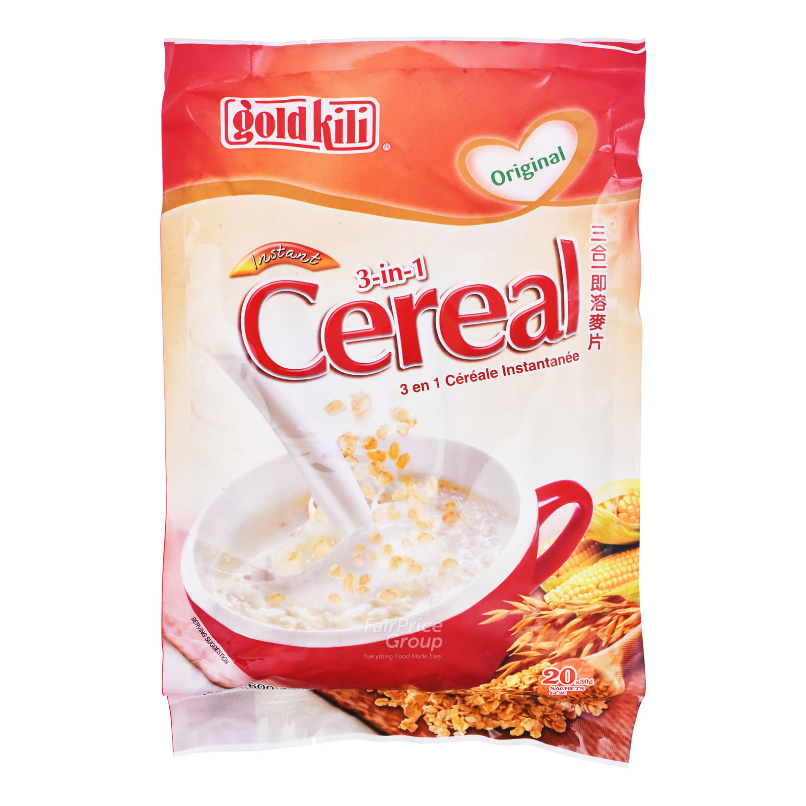 Gold Kili Instant Cereal - Original