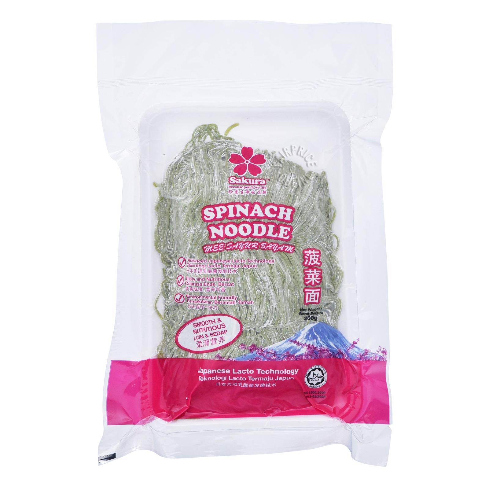 Sakura Spinach Noodle