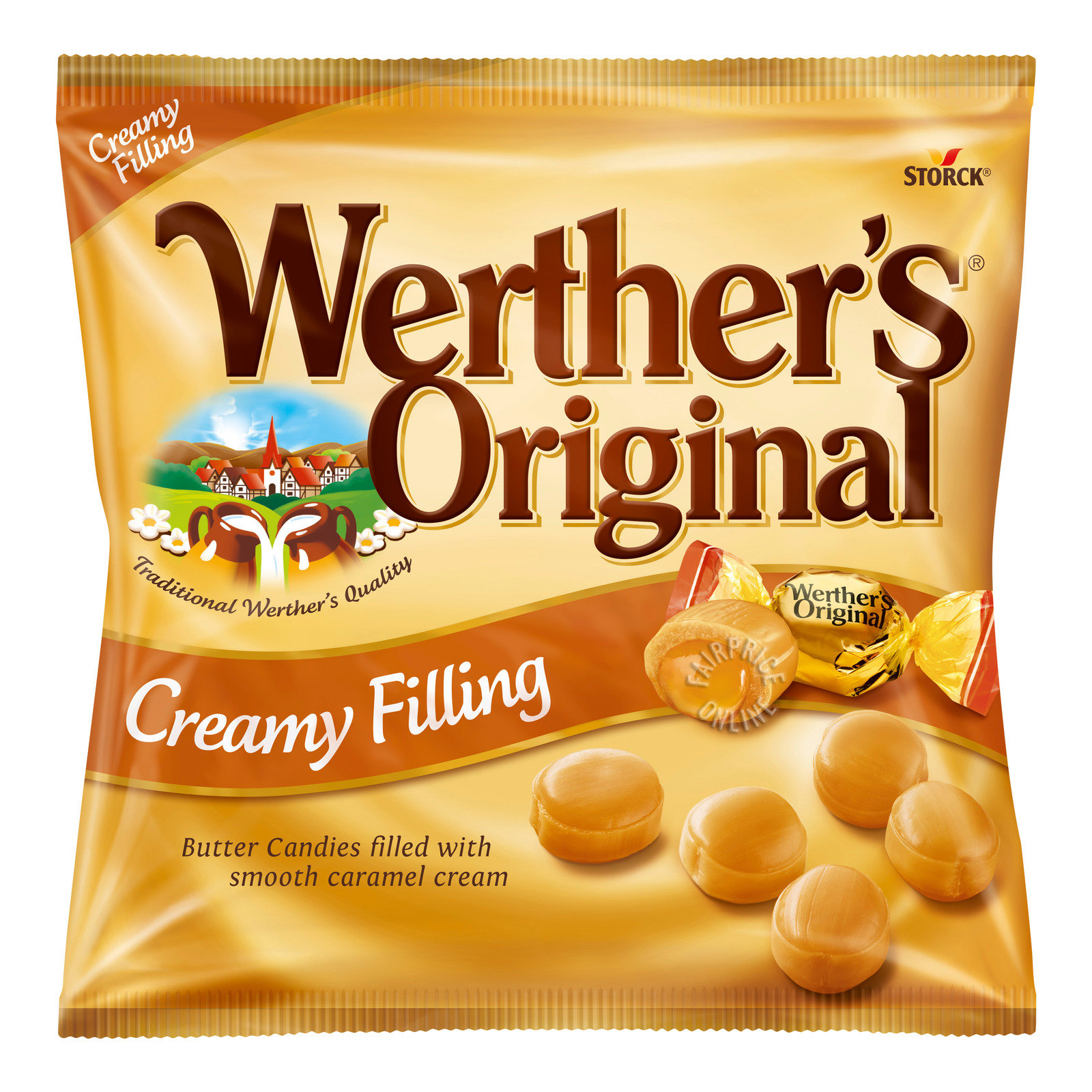 Storck Werther's Original Cream Candies - Caramel