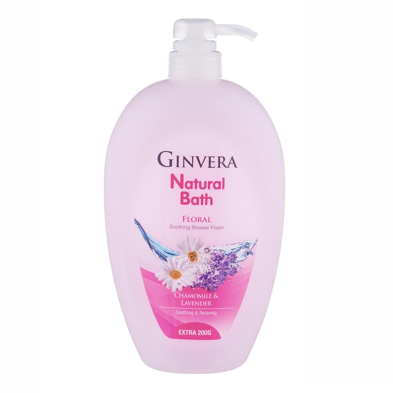 Ginvera Natural Bath Shower Foam - Floral