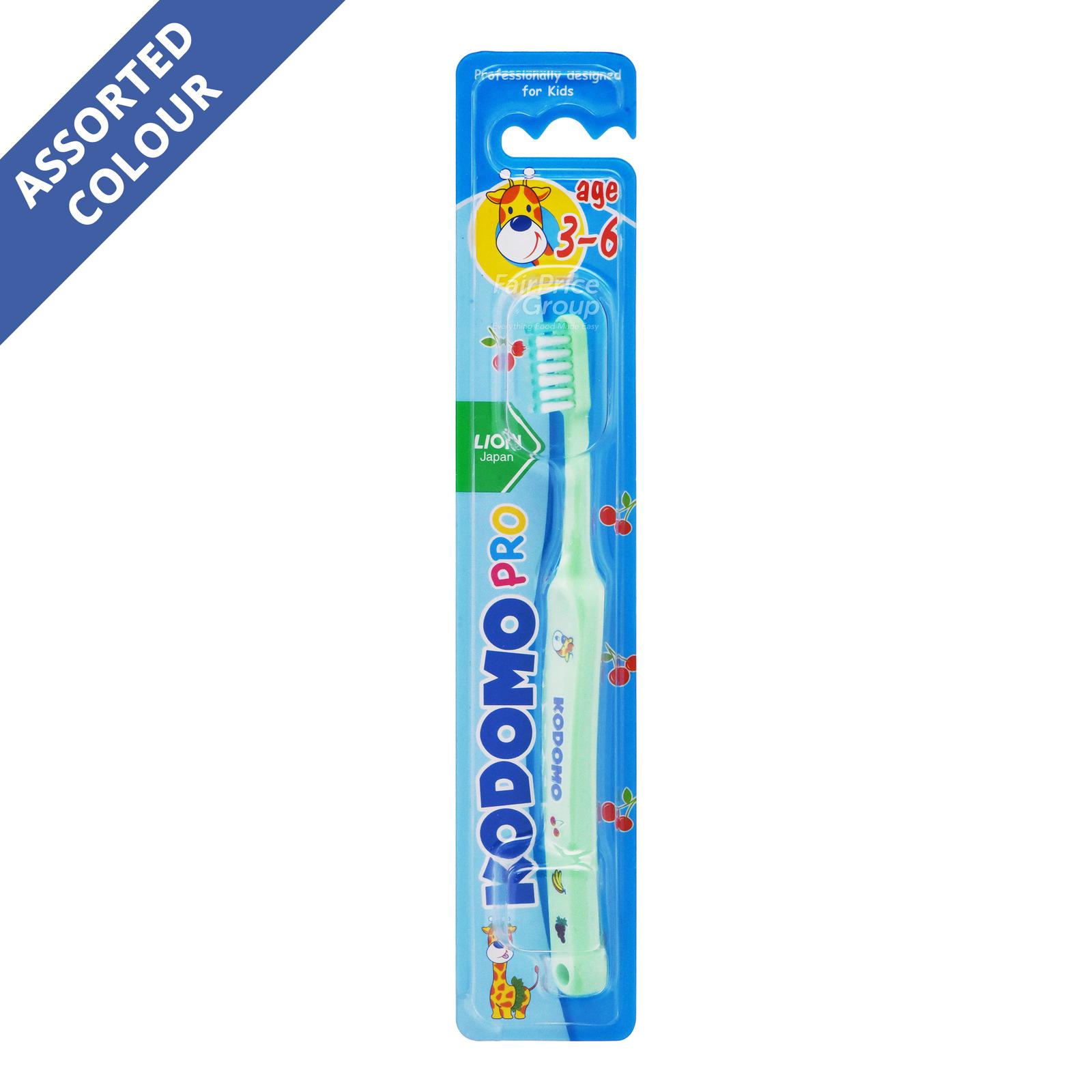 Kodomo Children Toothbrush - Pro (3 - 6 years old)