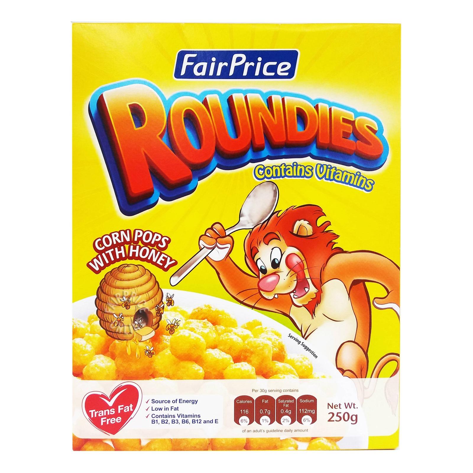 FairPrice Cereals - Roundies (Corn Pops with Honey)