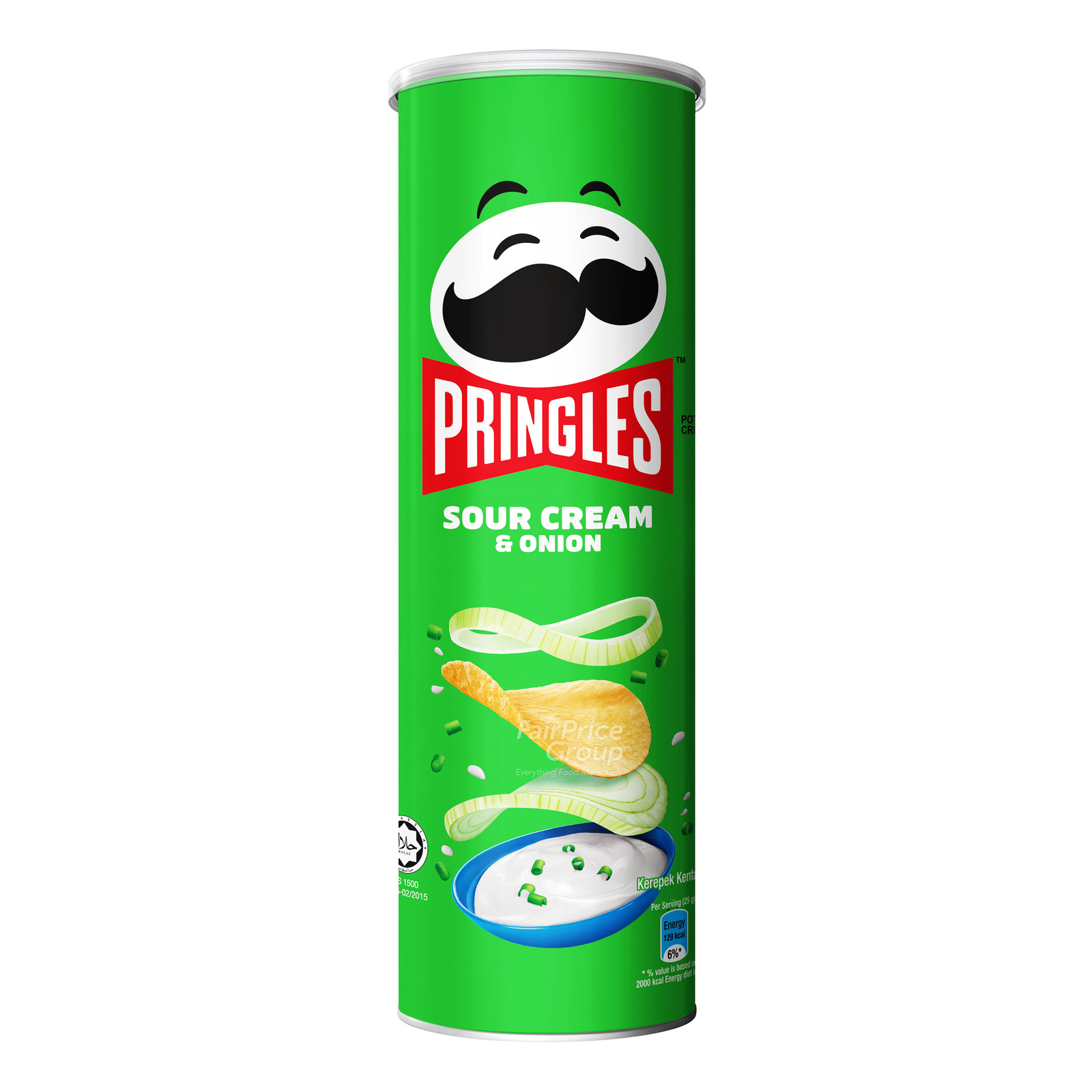 Pringles Potato Crisps - Sour Cream & Onion