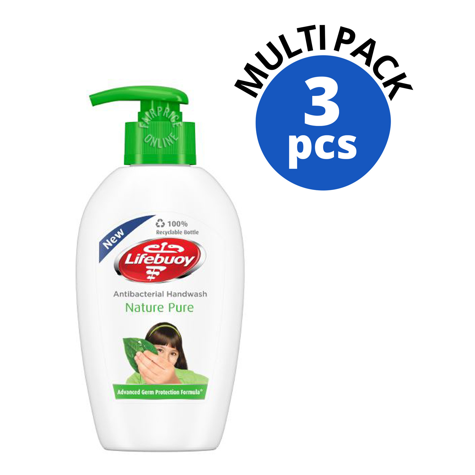 Lifebuoy Antibacterial Hand Wash - Nature Pure
