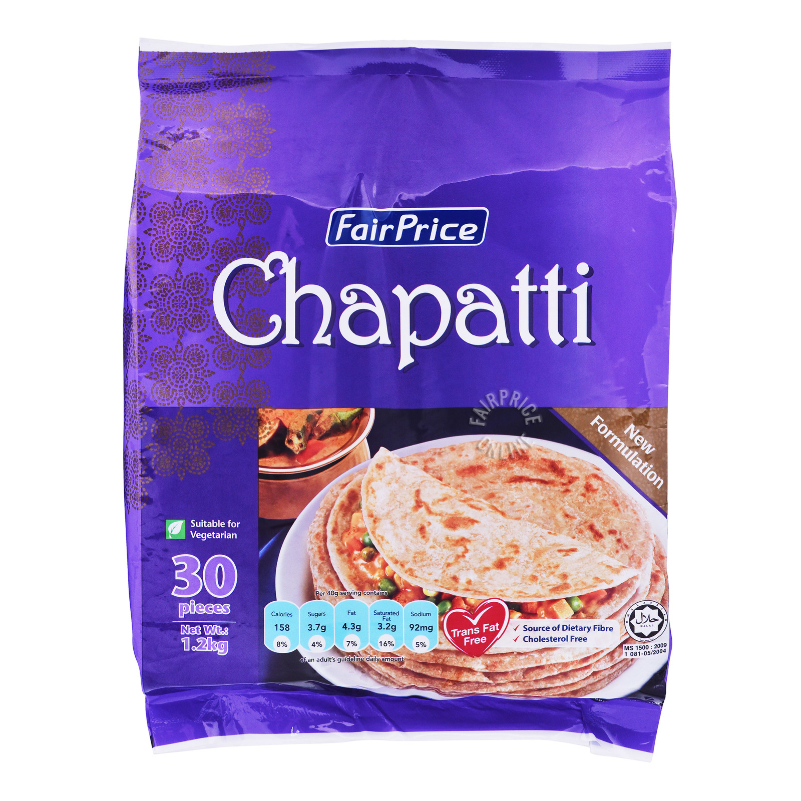 FairPrice Frozen Chapatti