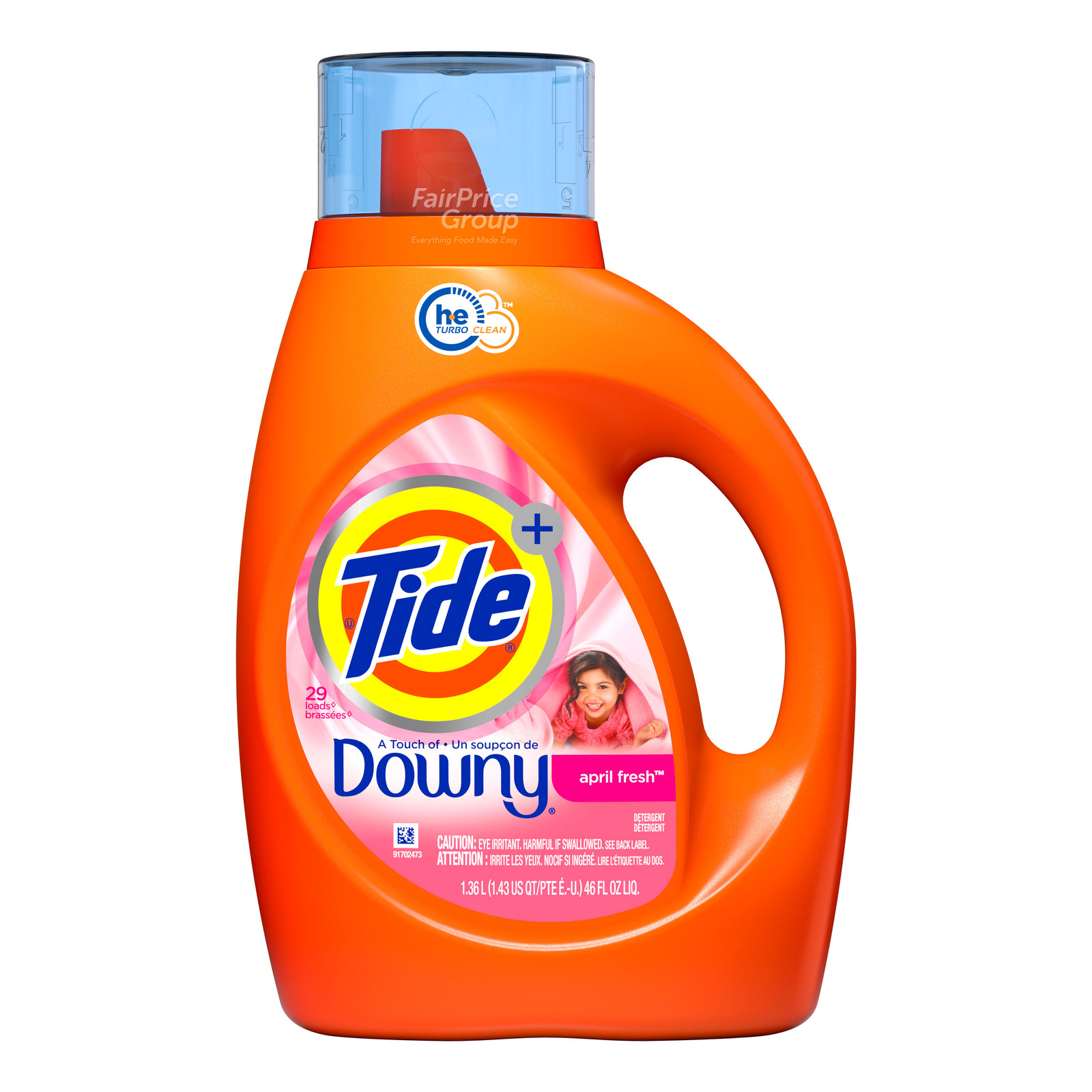 Tide Plus Laundry Liquid Detergent - Downy (April Fresh)