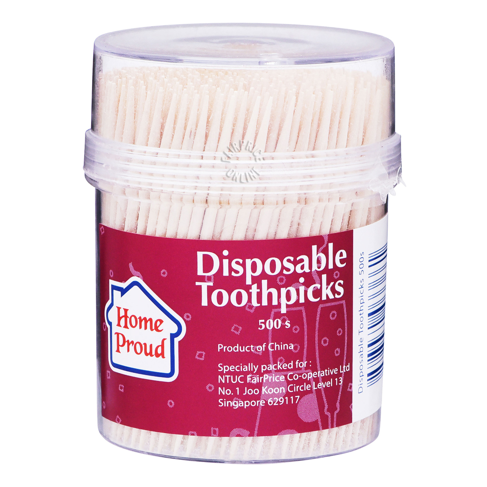HomeProud Disposable Toothpicks