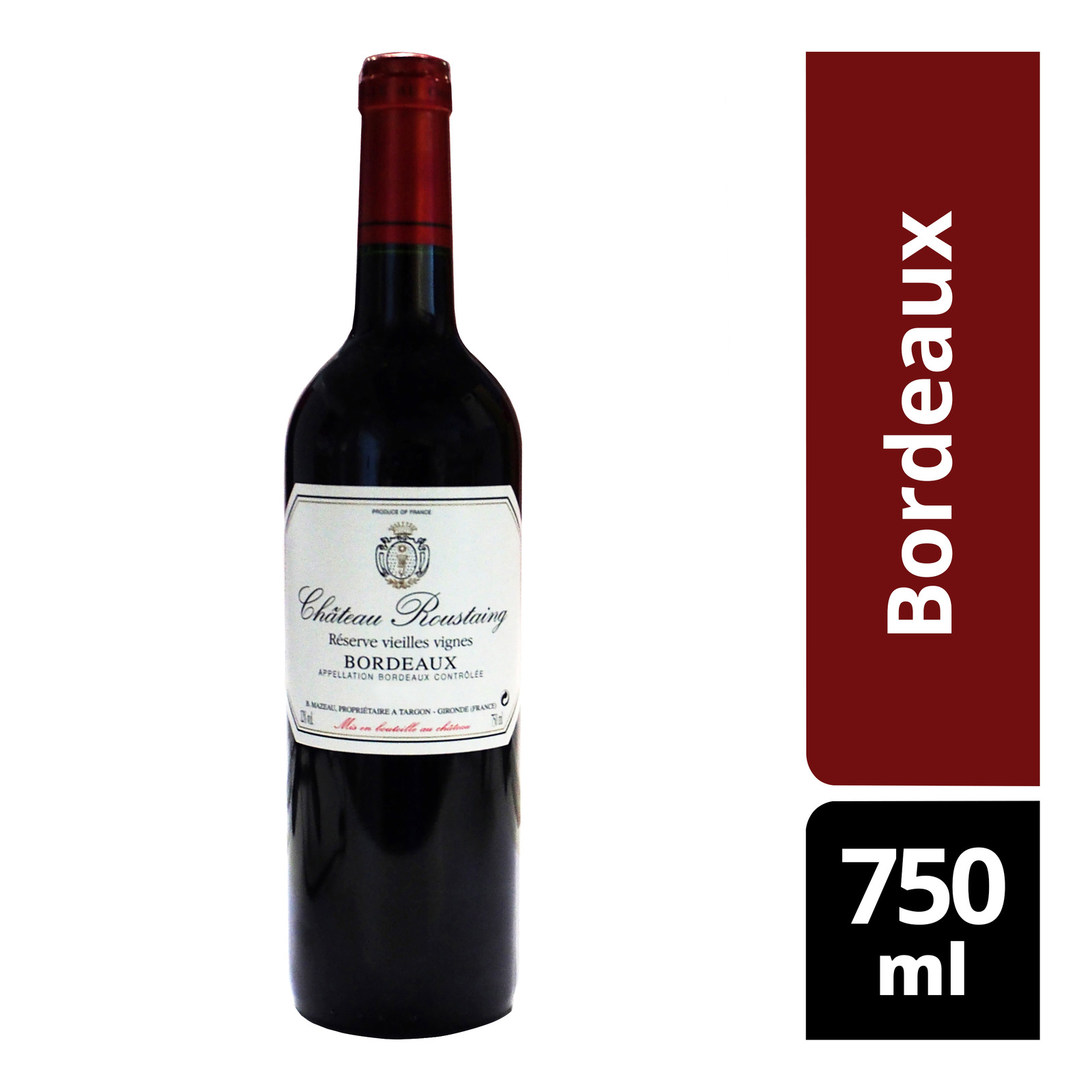 Chateau Roustaing Red Wine - Bordeaux
